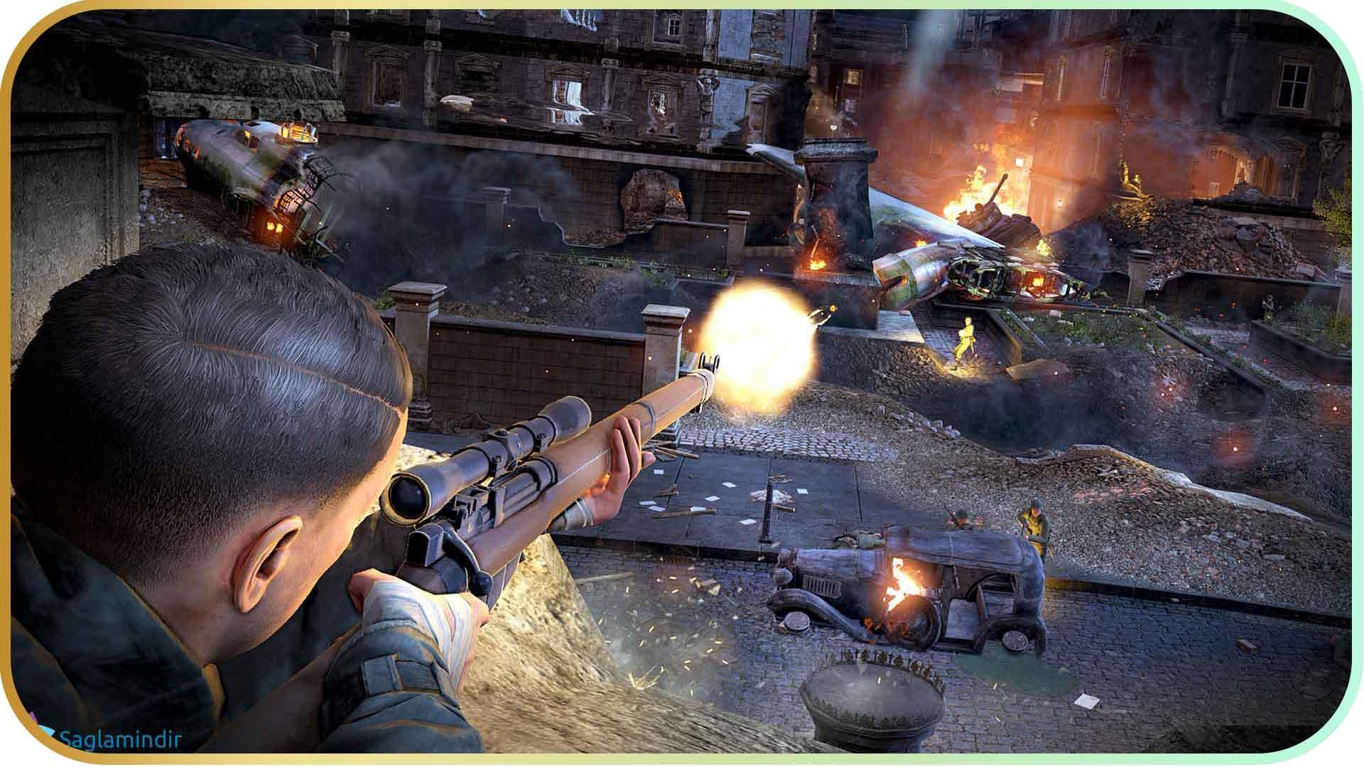 Sniper Elite V2 Remastered saglamindir