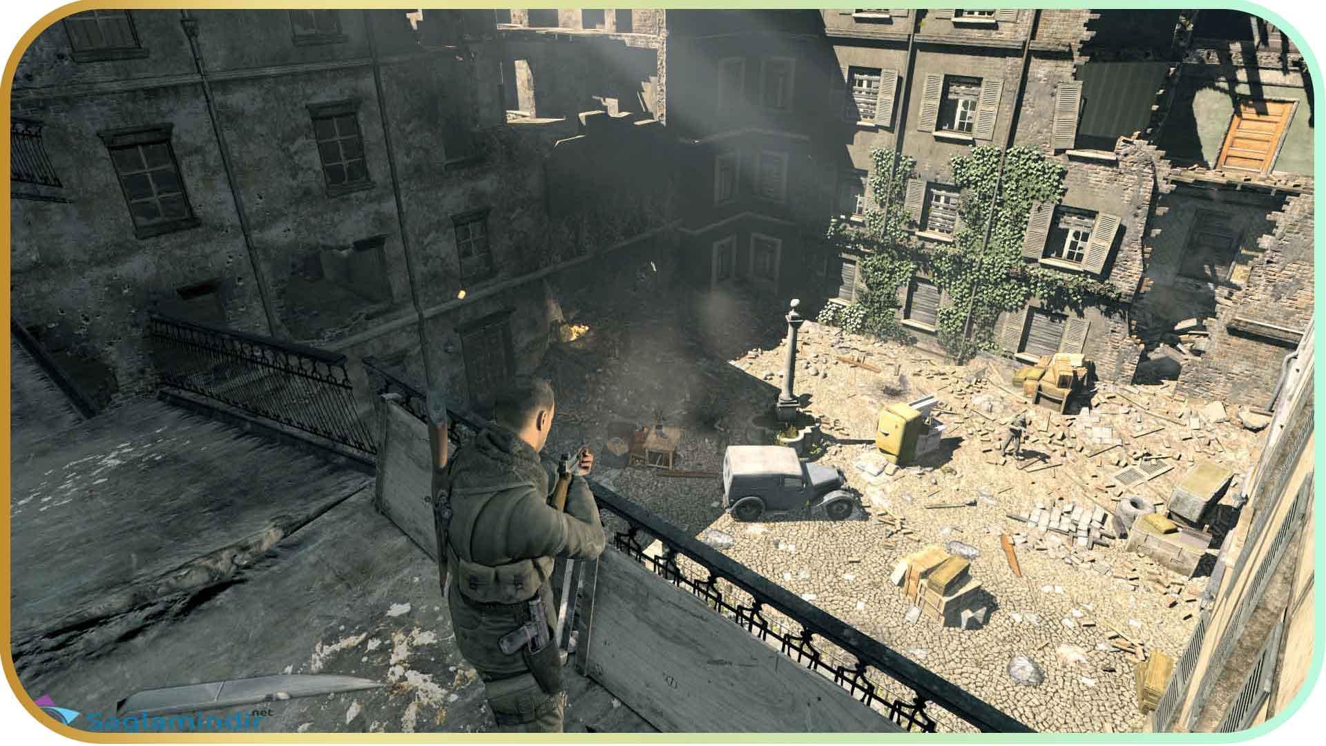 Sniper Elite V2 Remastered torrent indir