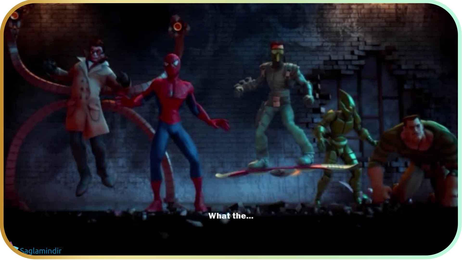 Spider Man Friend Or Foe full indir