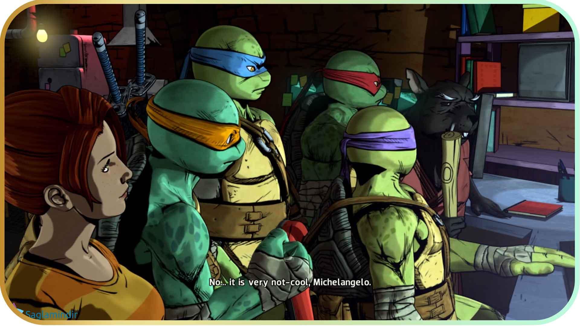 Teenage Mutant Ninja Turtles Mutants in Manhattan full indir