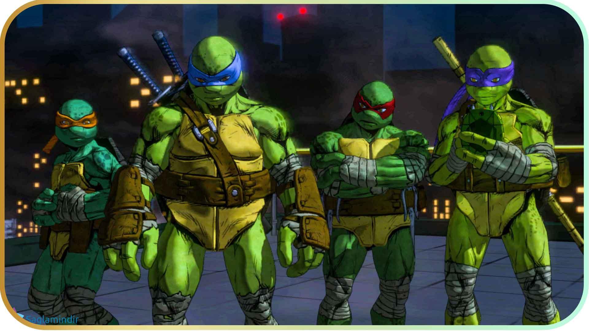 Teenage Mutant Ninja Turtles Mutants in Manhattan saglamindir