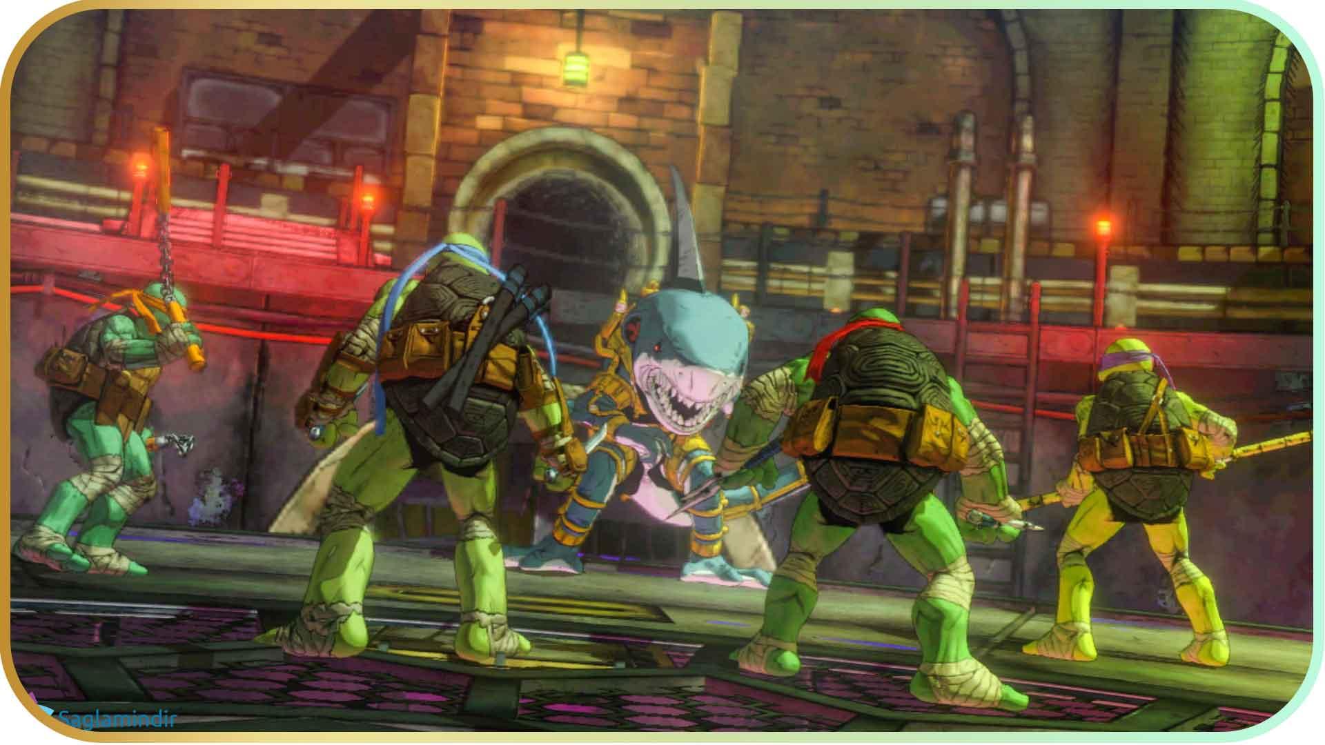 Teenage Mutant Ninja Turtles Mutants in Manhattan torrent indir