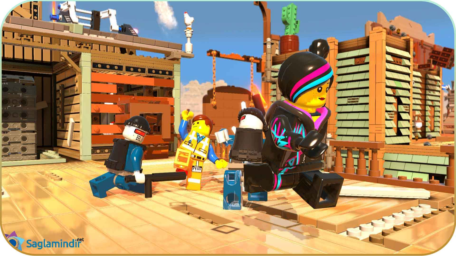 The Lego Movie Video Game saglamindir
