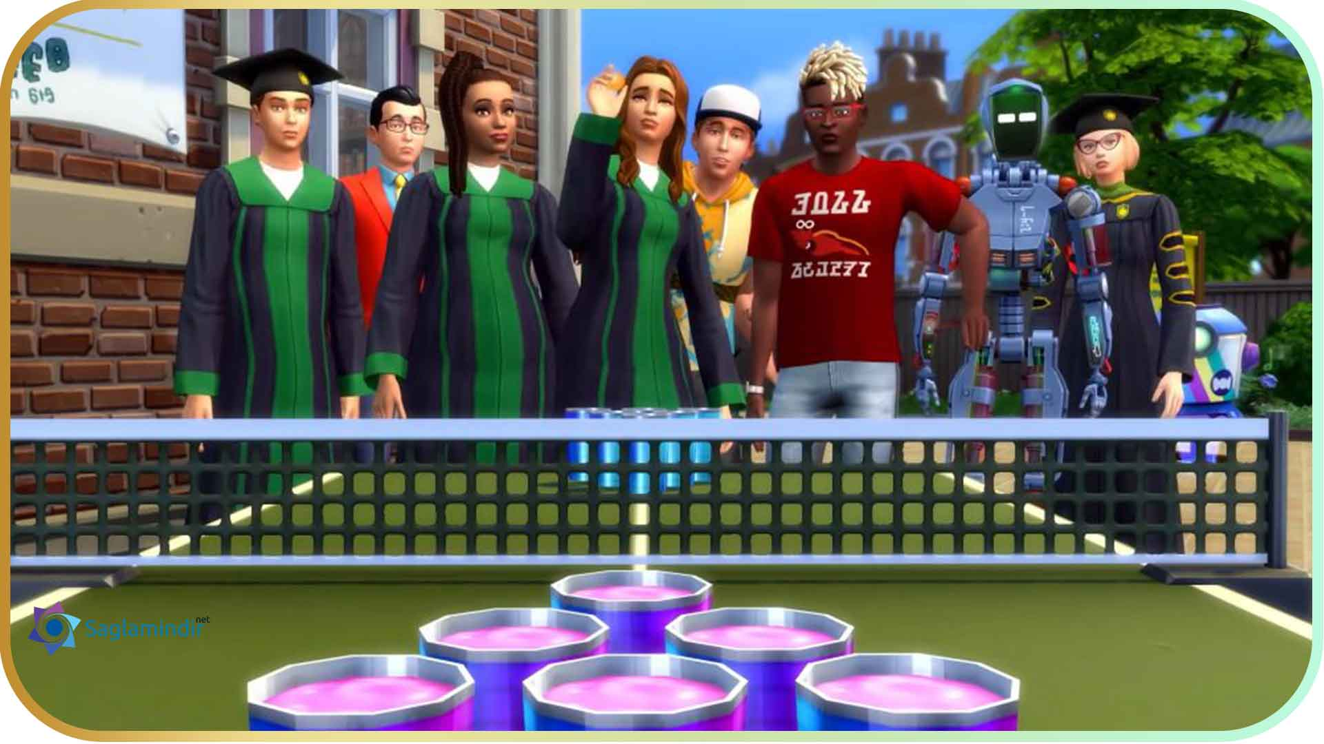 The Sims 4 Discover University full indir