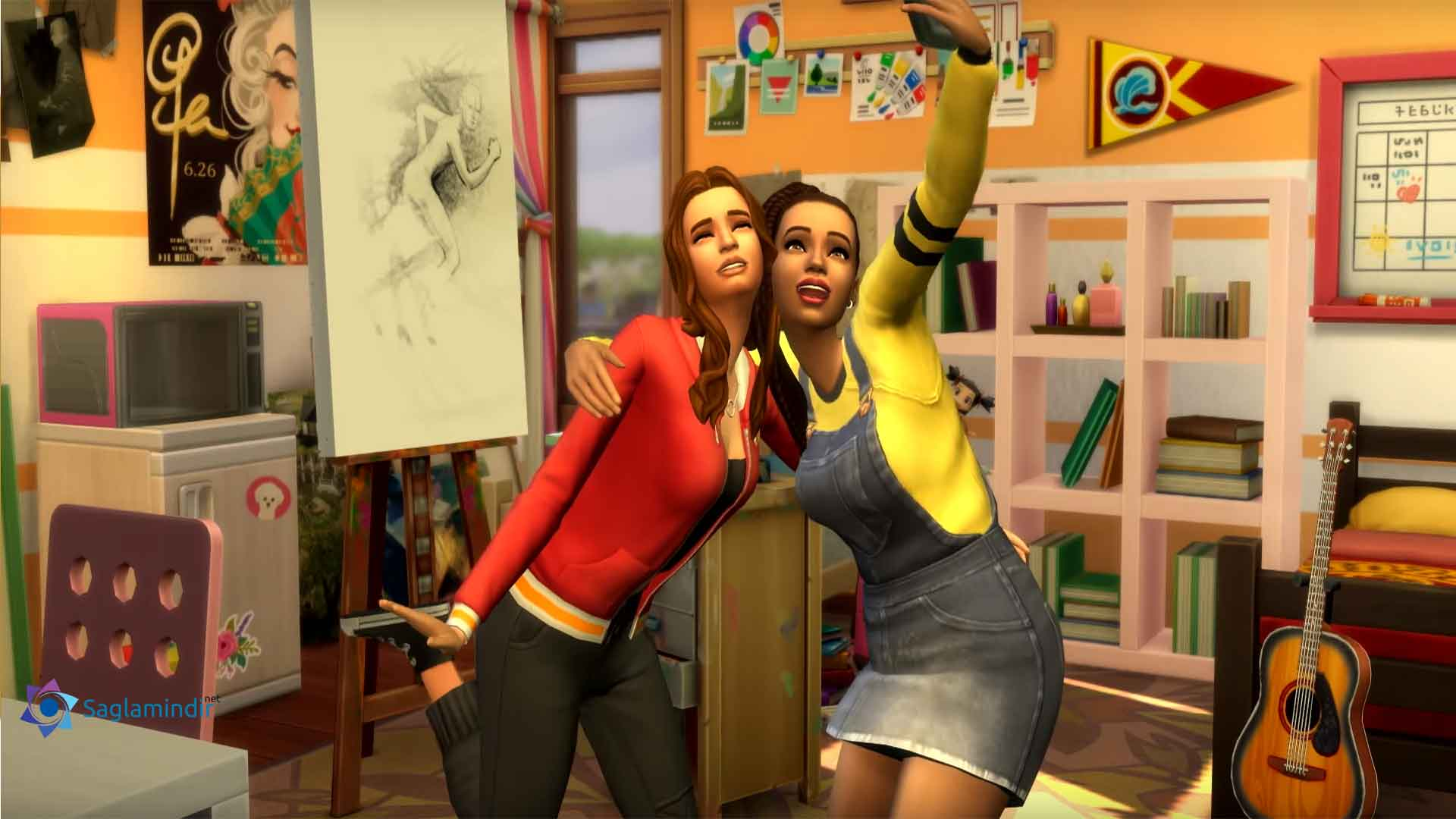 The Sims 4 Discover University torrent indir