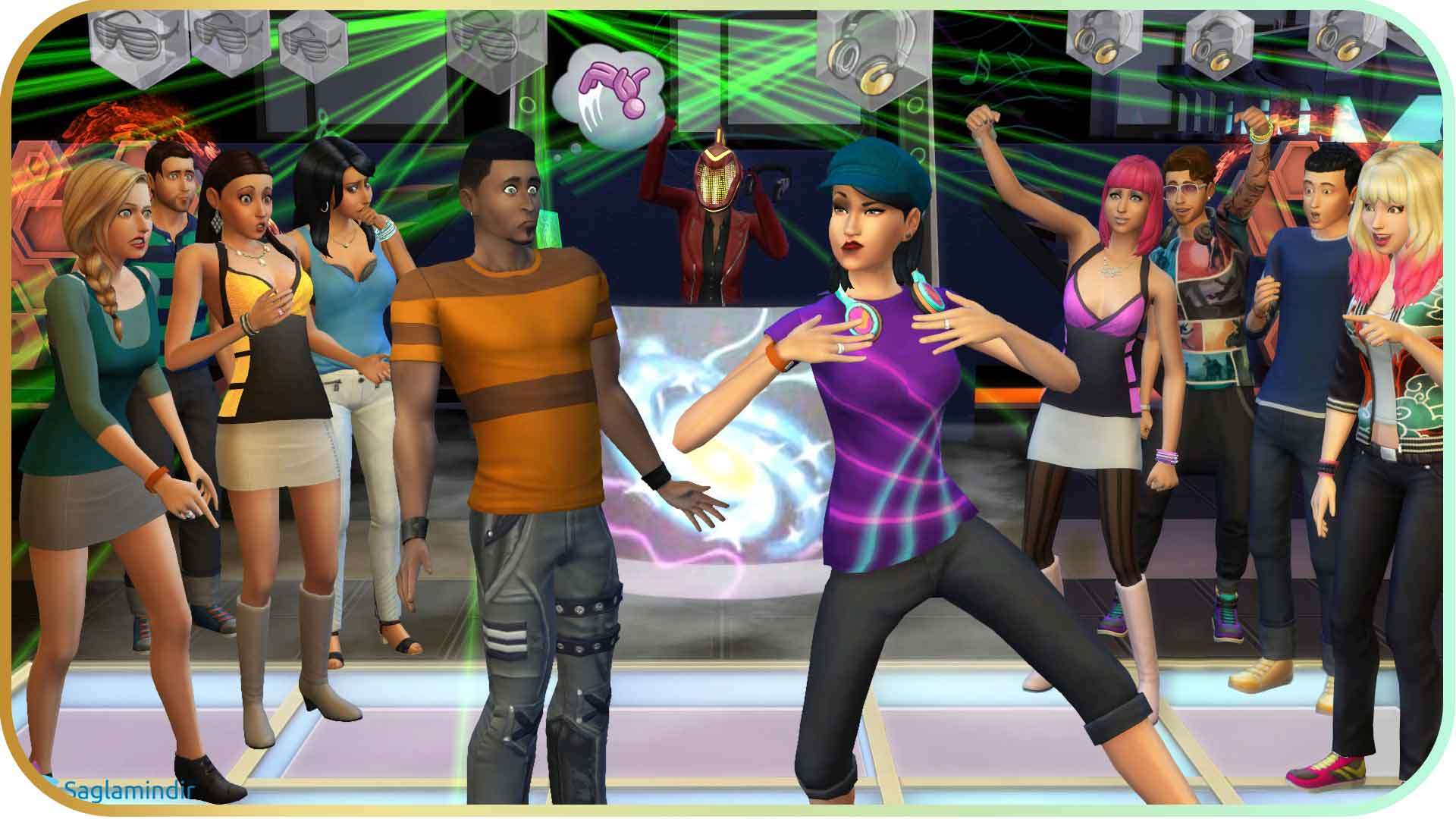 The Sims 4 Get Together torrent indir