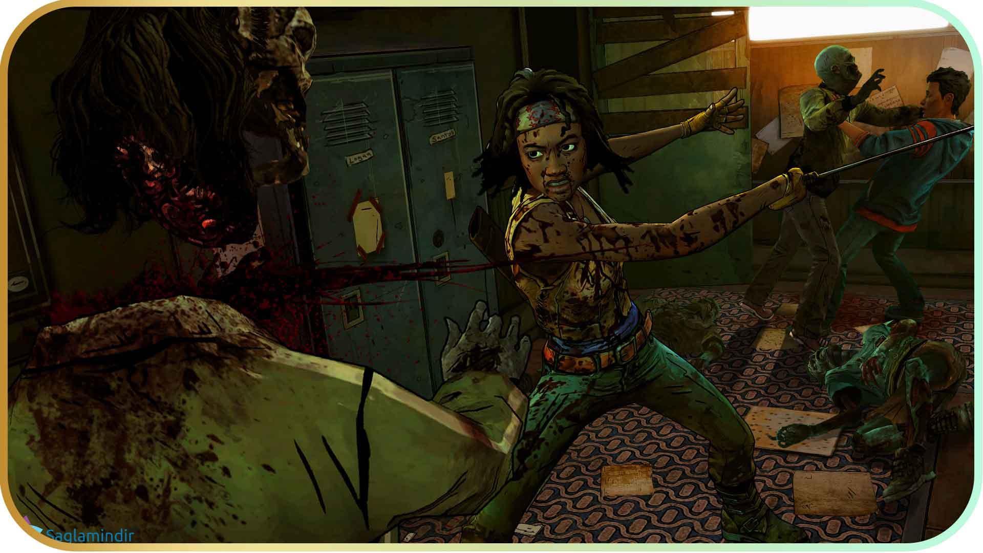 The Walking Dead Michonne Episode 3 full indir
