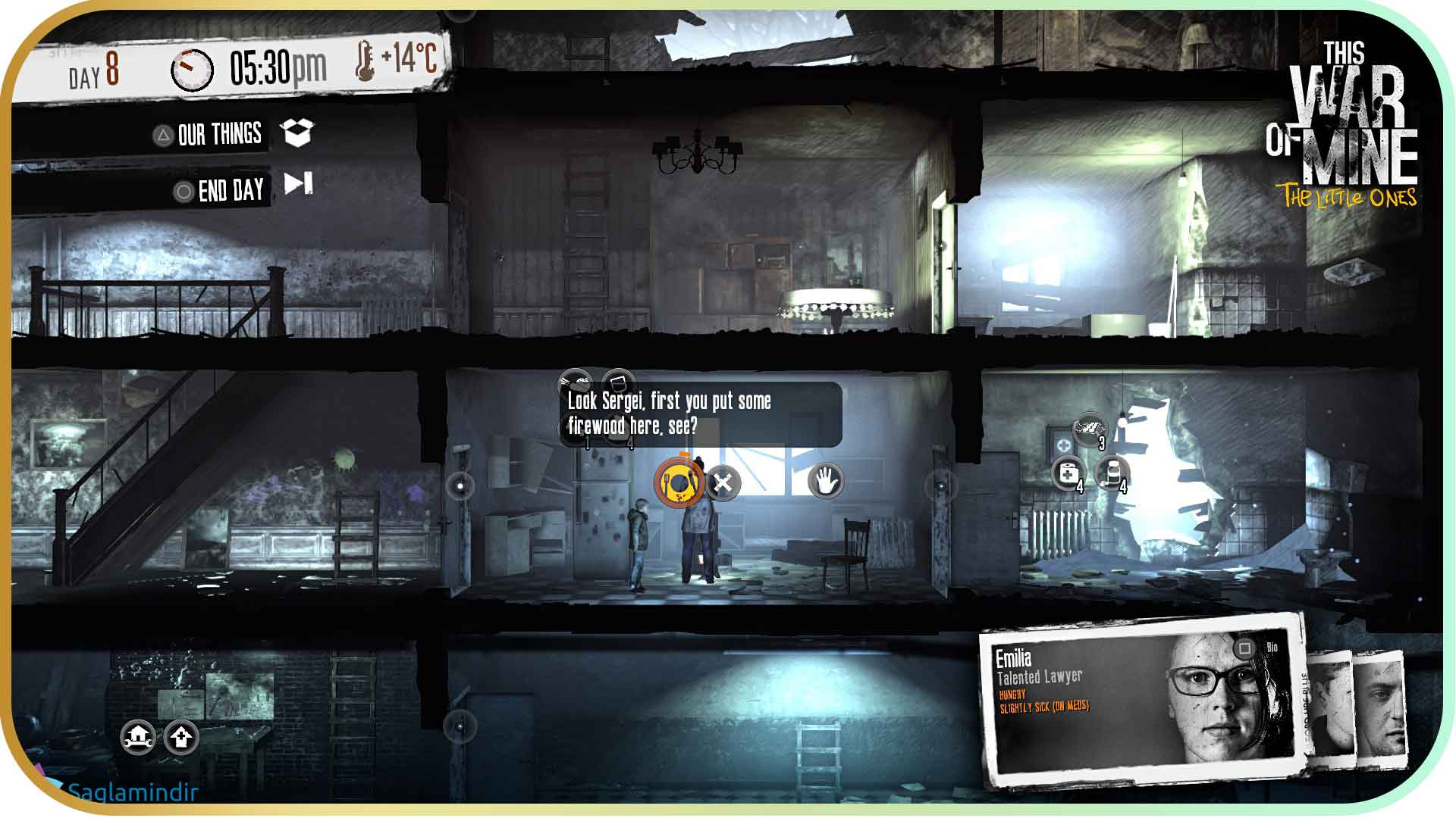 This War of Mine The Little Ones full indir