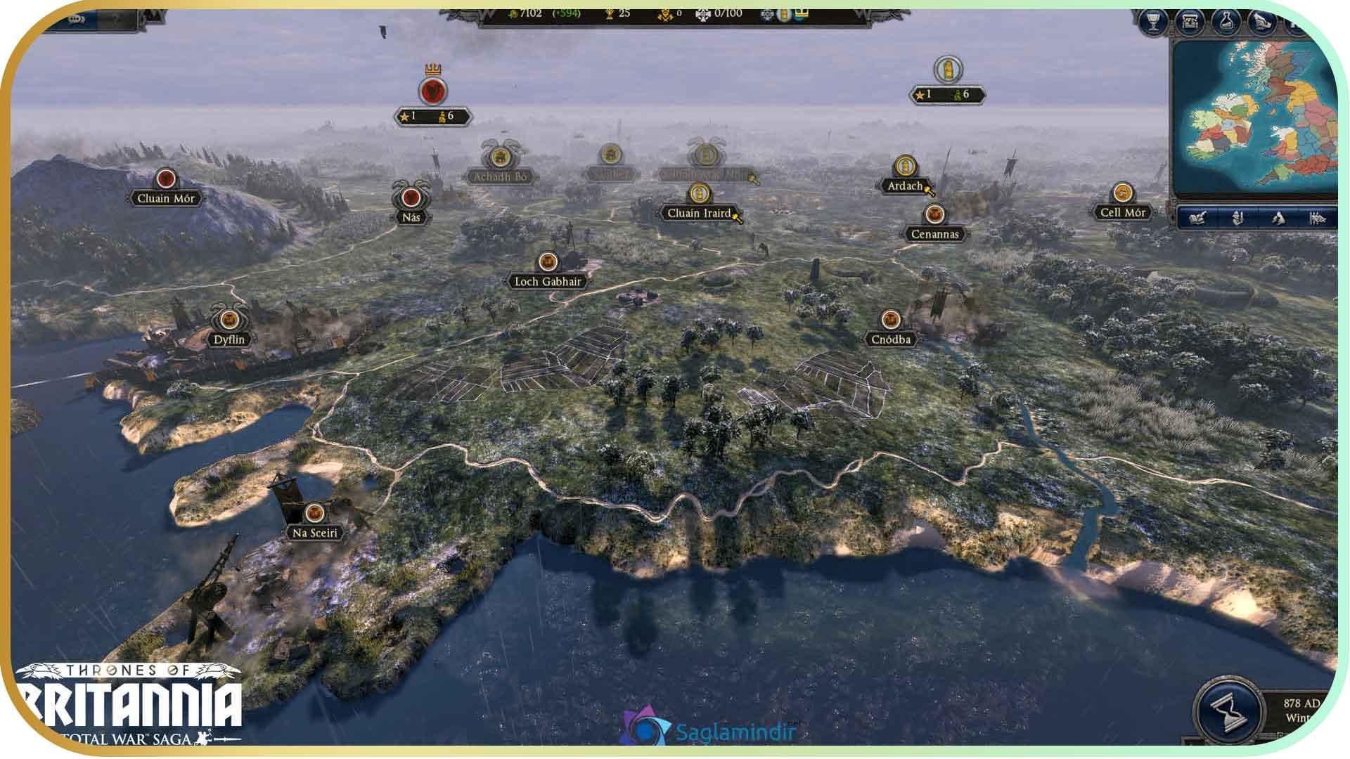 Total War Saga Thrones of Britannia full indir
