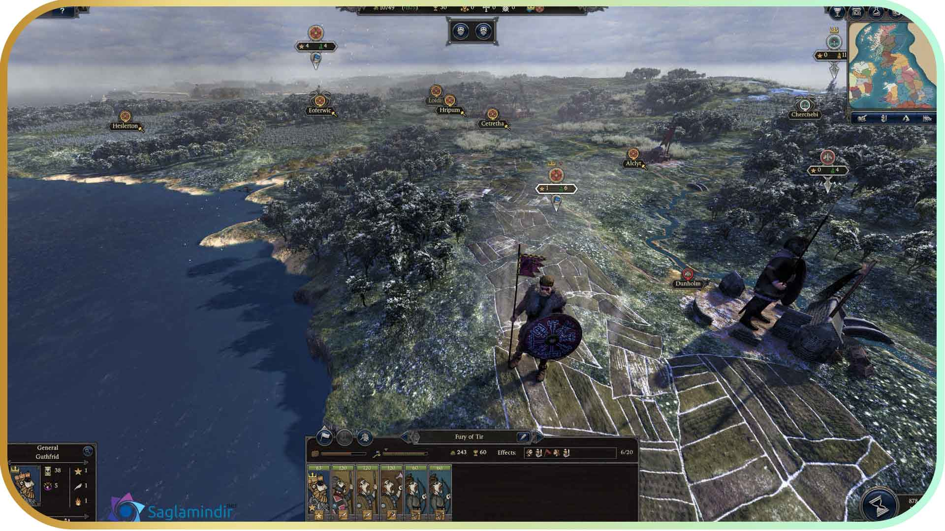 Total War Saga Thrones of Britannia saglamindir