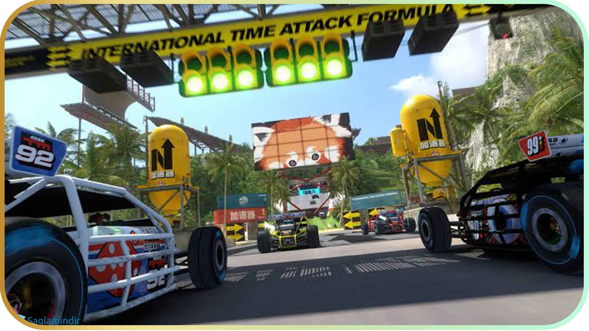 Trackmania Turbo full indir