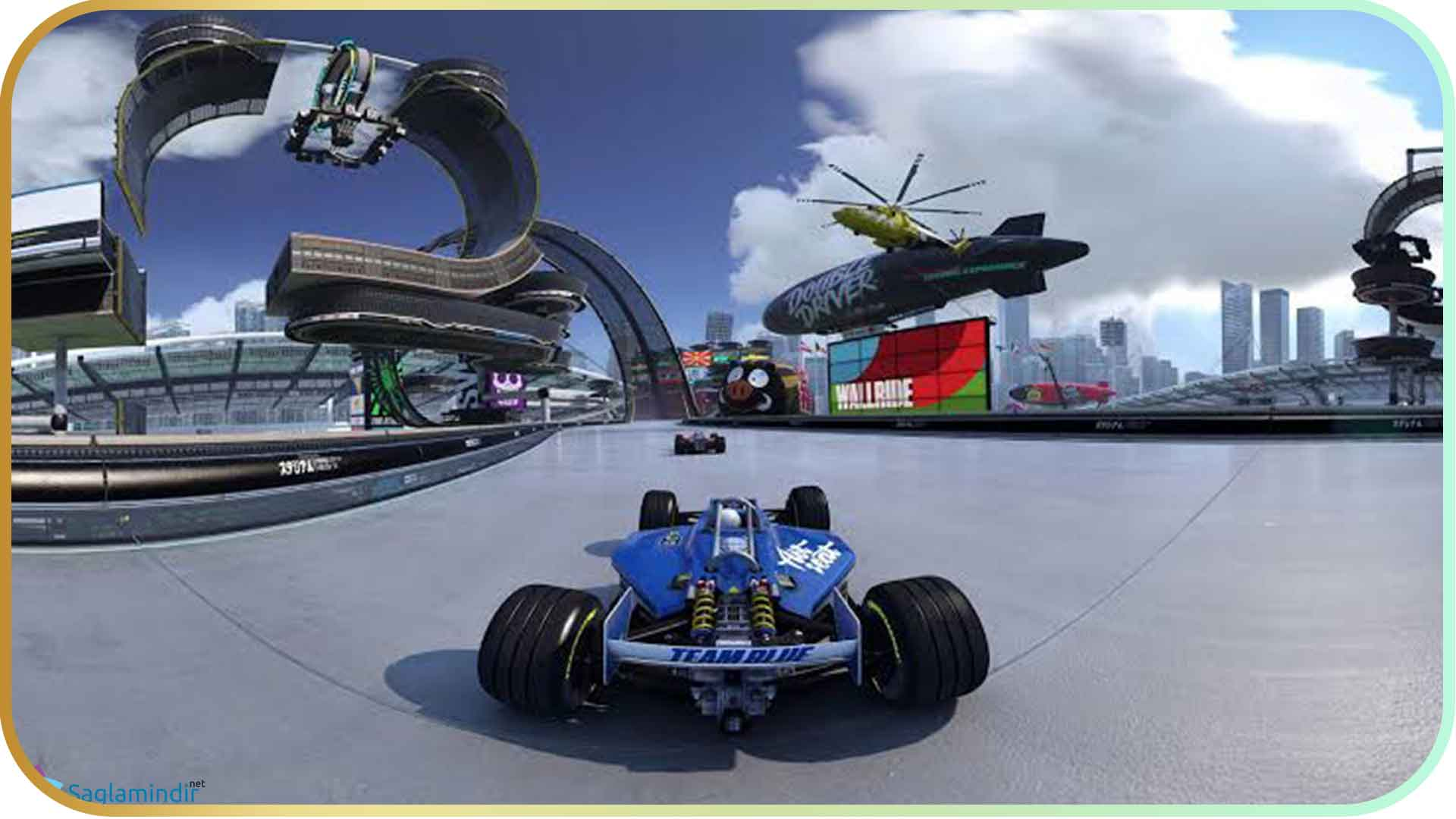 Trackmania Turbo torrent indir