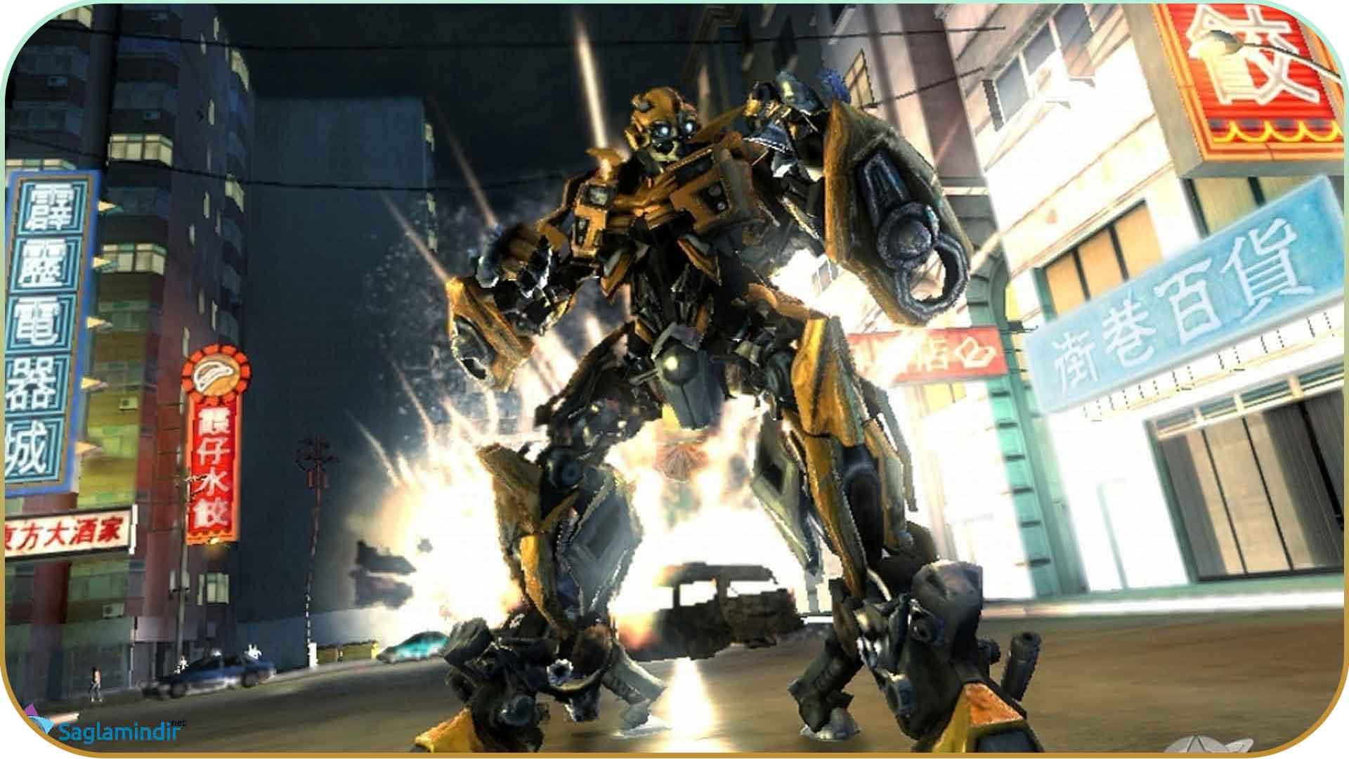 Transformers Revenge Of The Fallen full indir