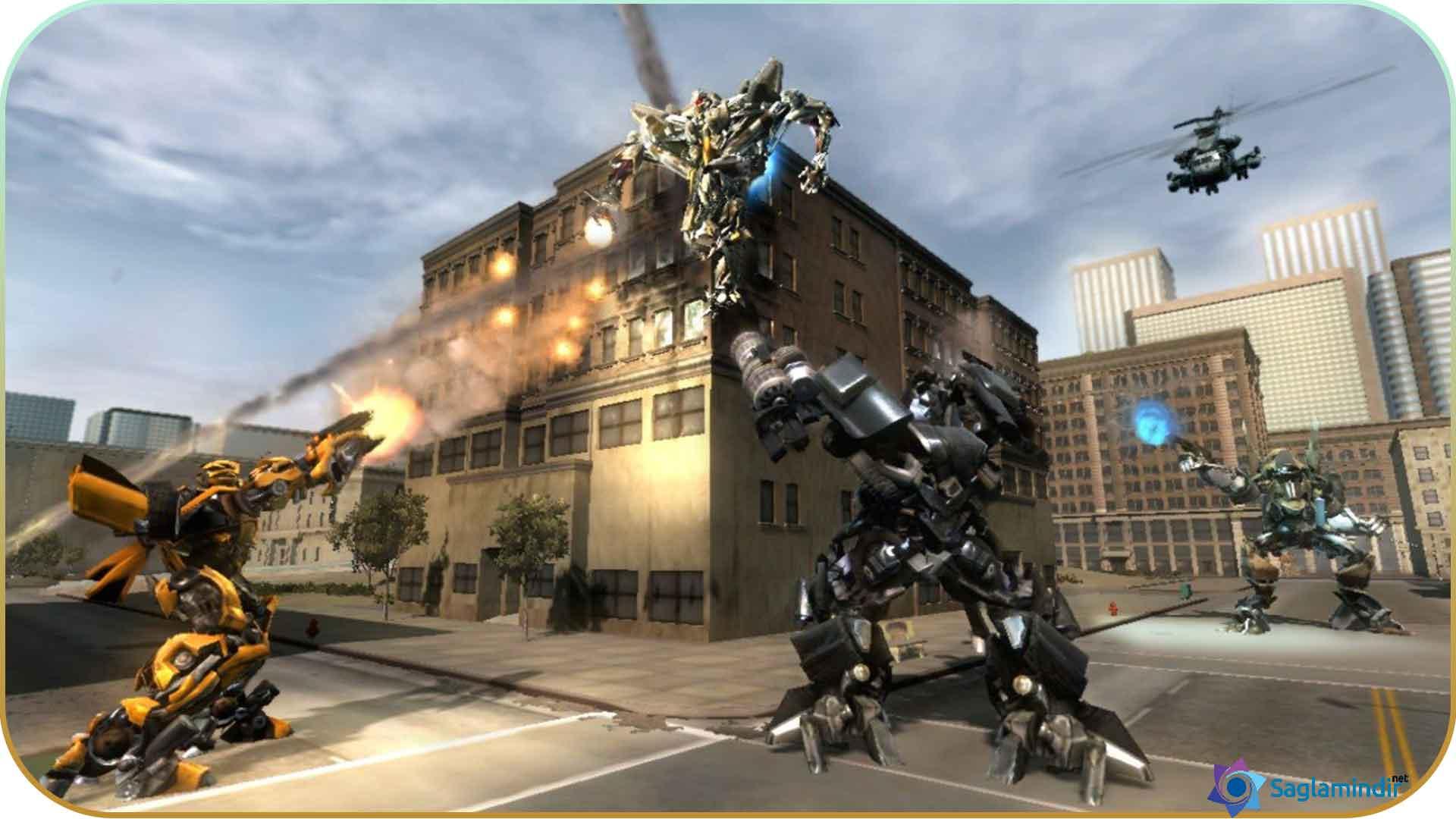 Transformers Revenge Of The Fallen torrent indir