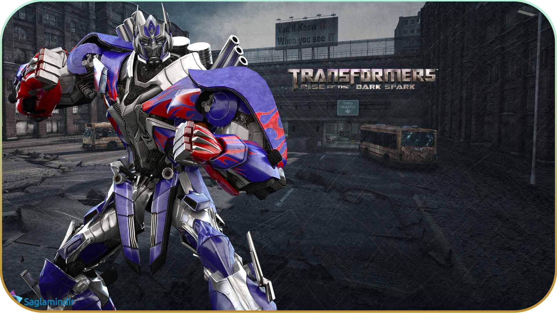 Transformers Rise of the Dark Spark saglamindir