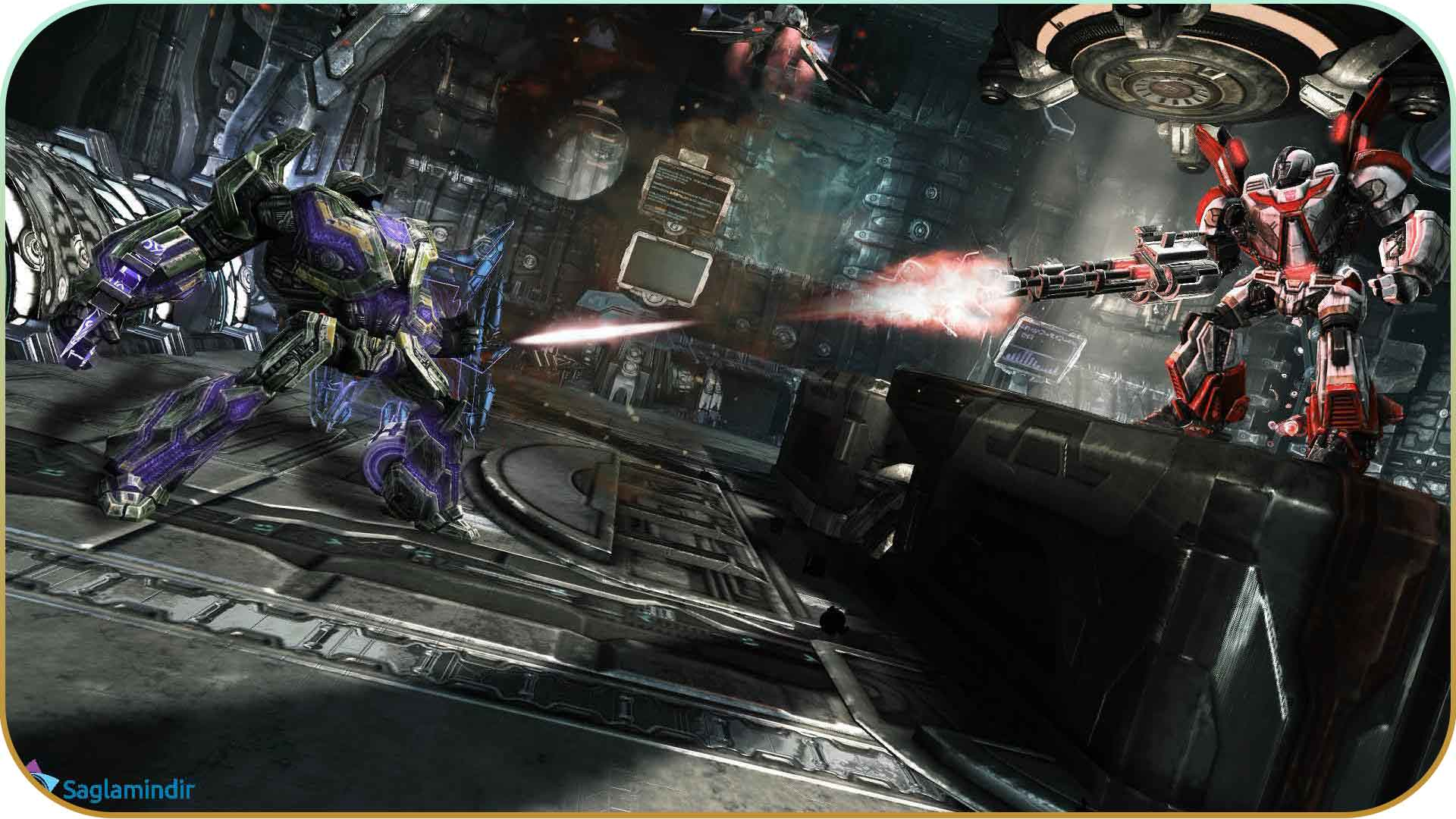 Transformers Rise of the Dark Spark torrent indir