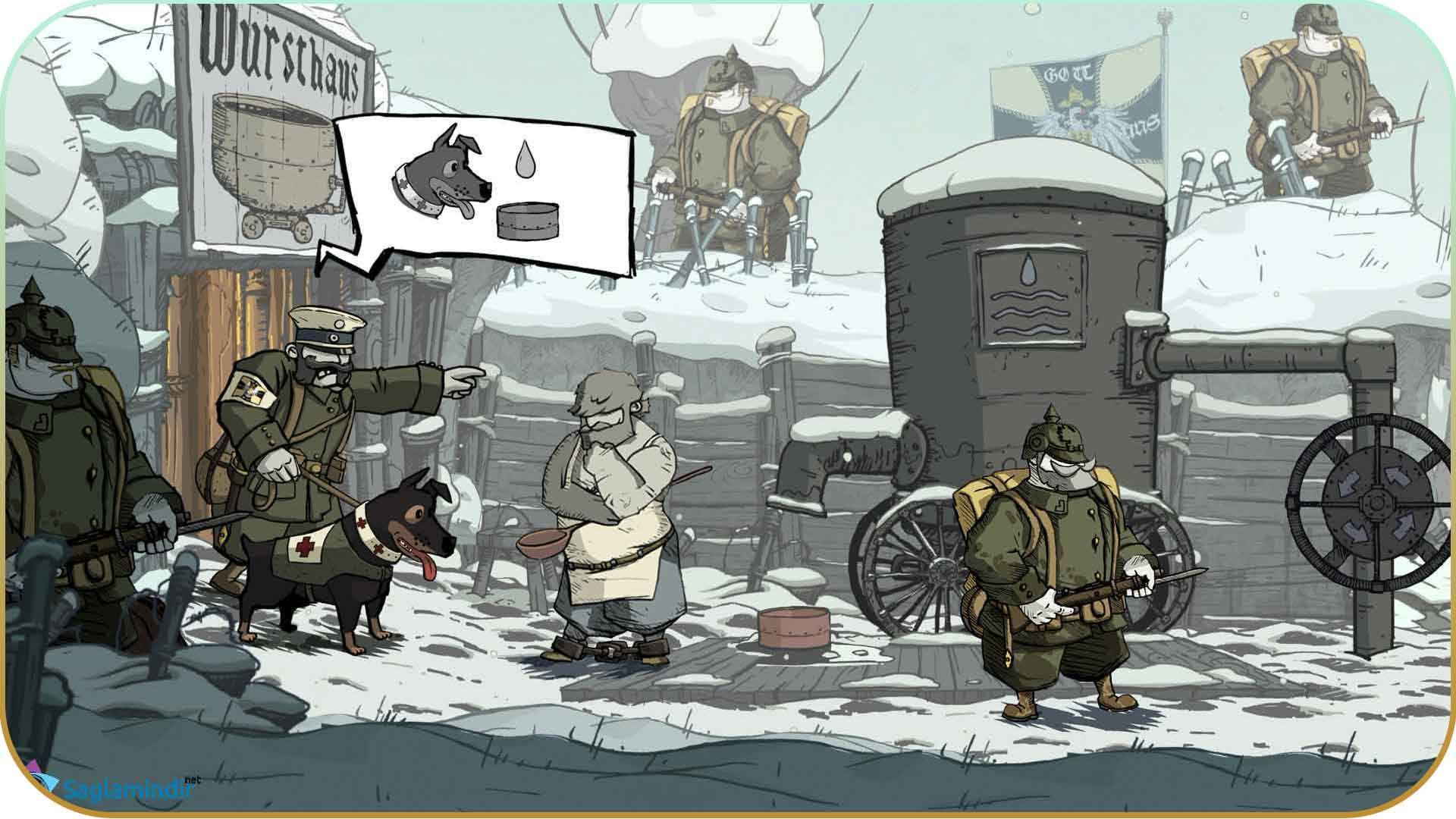 Valiant Hearts The Great War torrent indir