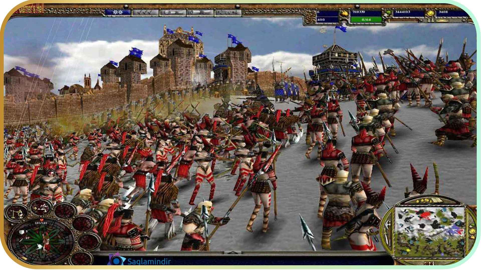 Warrior Kings torrent indir