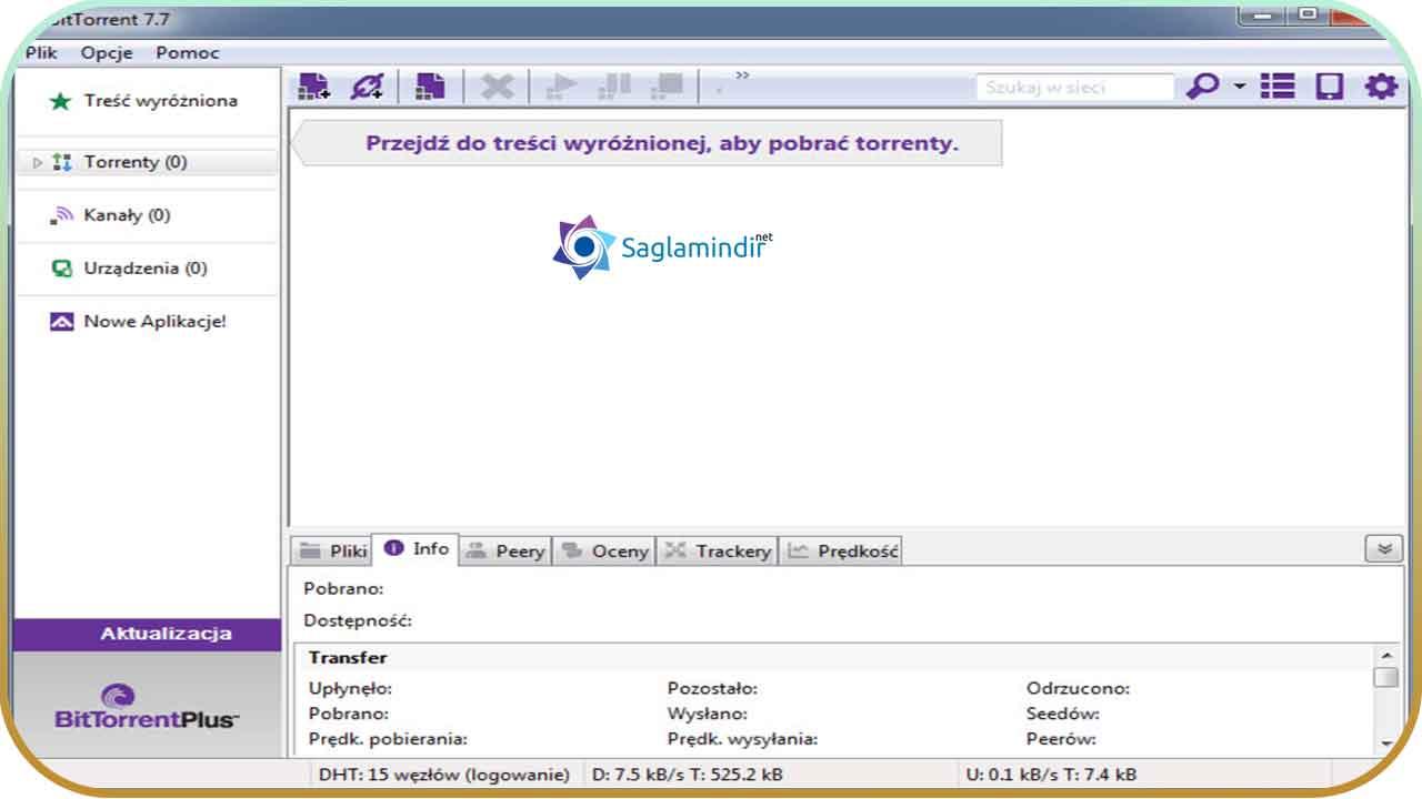 BitTorrent saglamindir