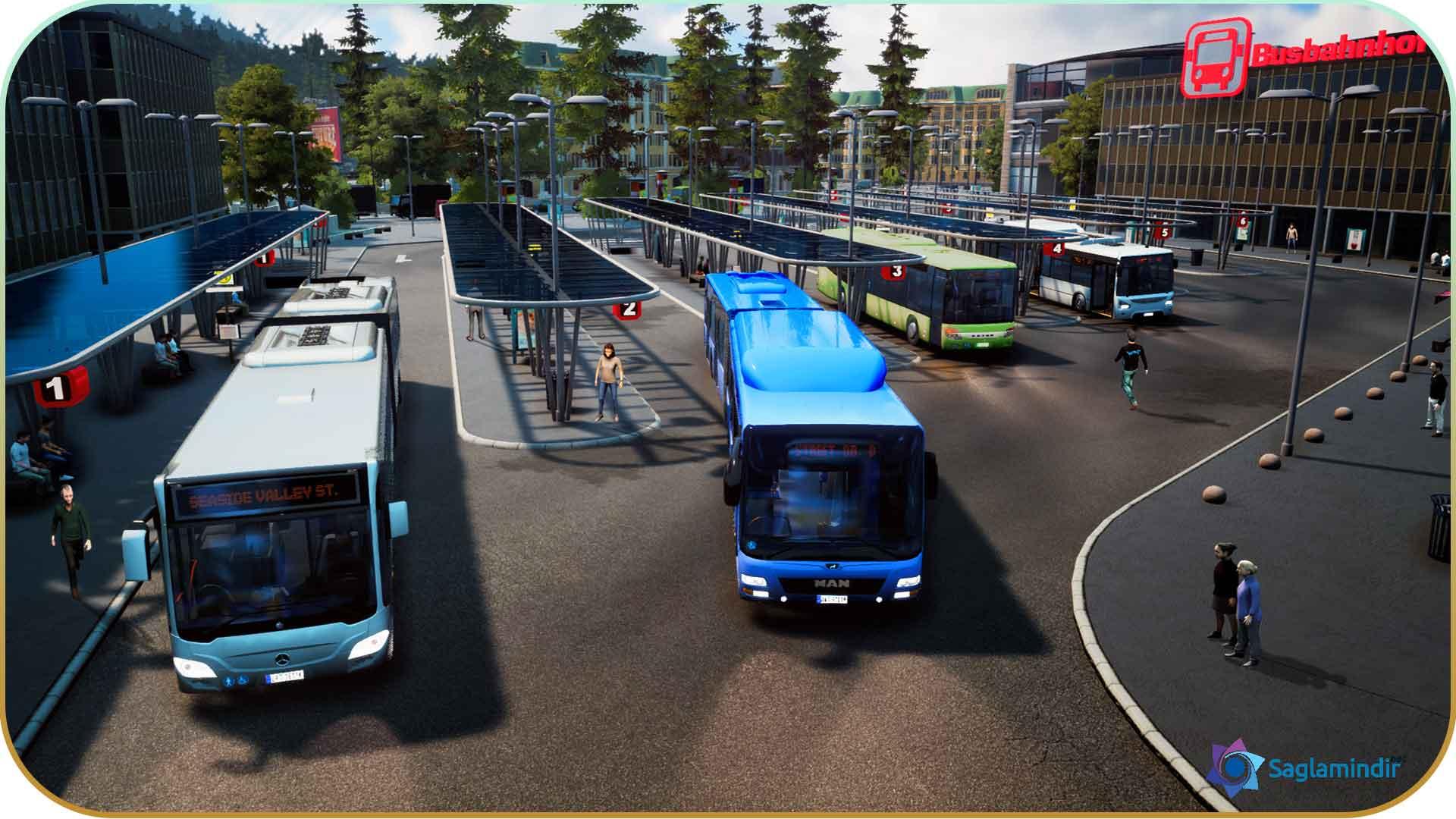 Bus Simulator 18 full indir