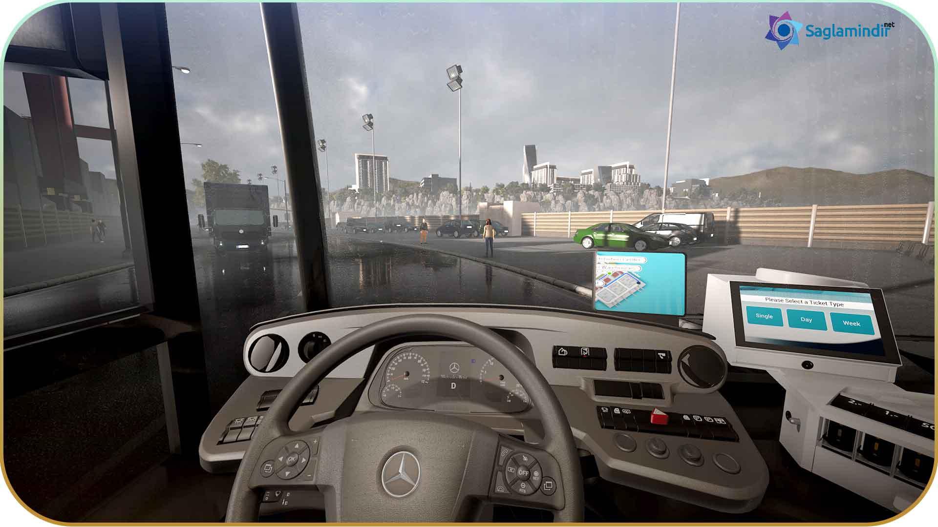 Bus Simulator 18 torrent indir