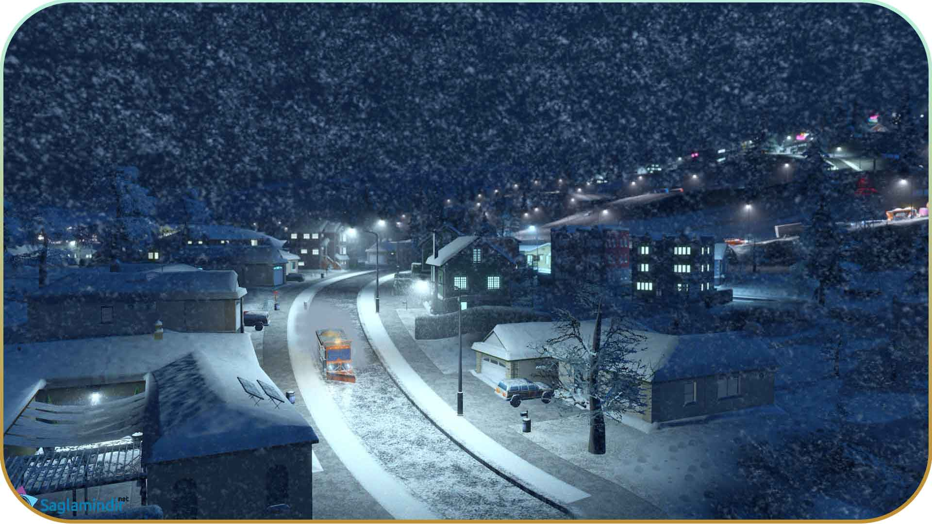 Cities Skylines Snowfall full indir