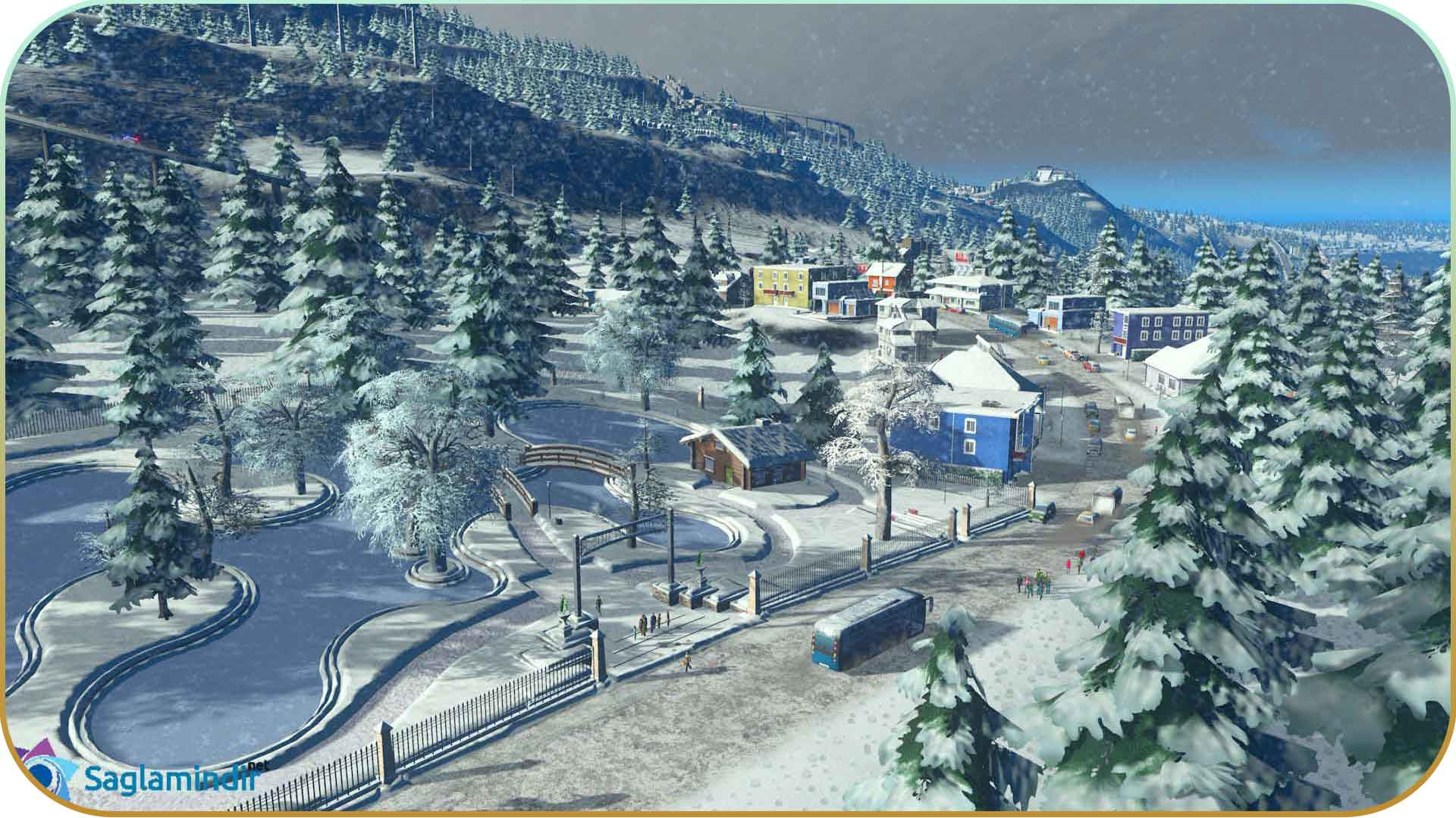Cities Skylines Snowfall saglamindir