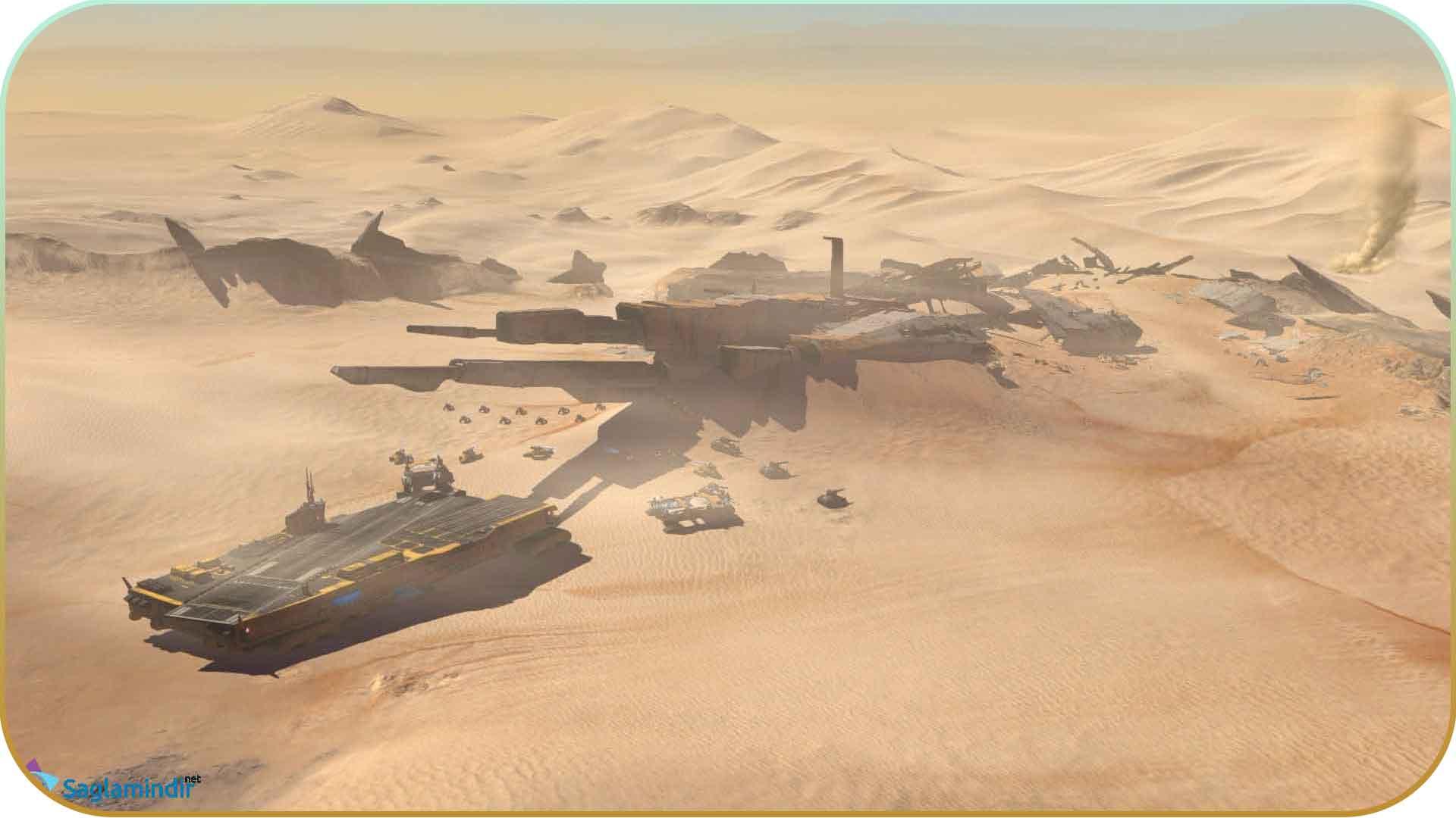 Homeworld Deserts Of Kharak saglamindir