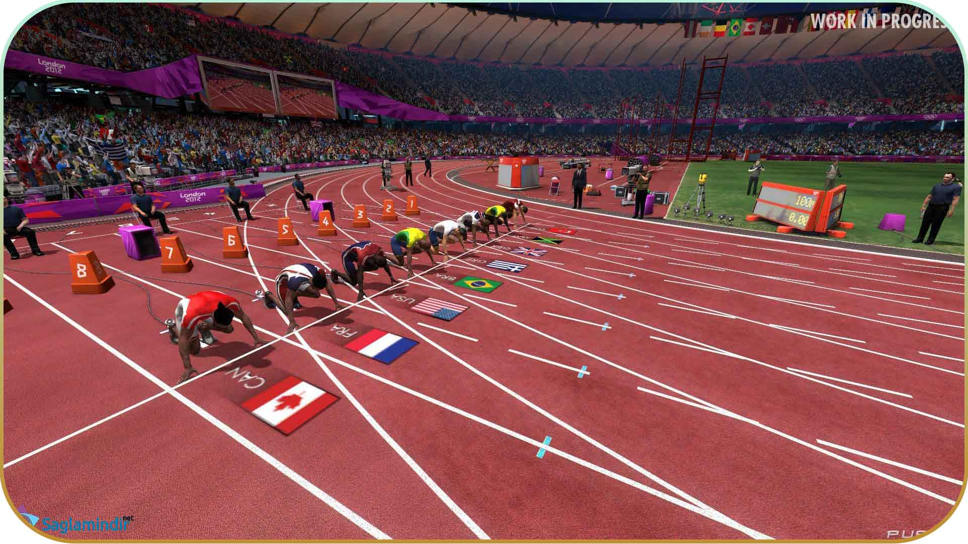 London 2012 The Official Video Game full indir