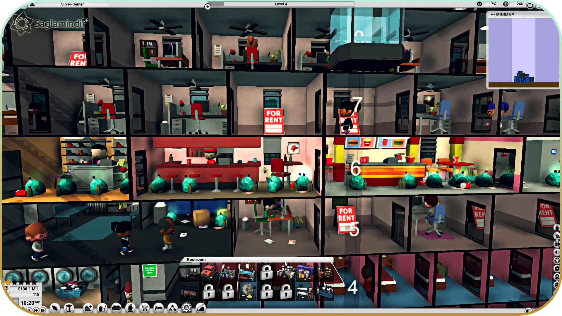 Mad Tower Tycoon torrent indir