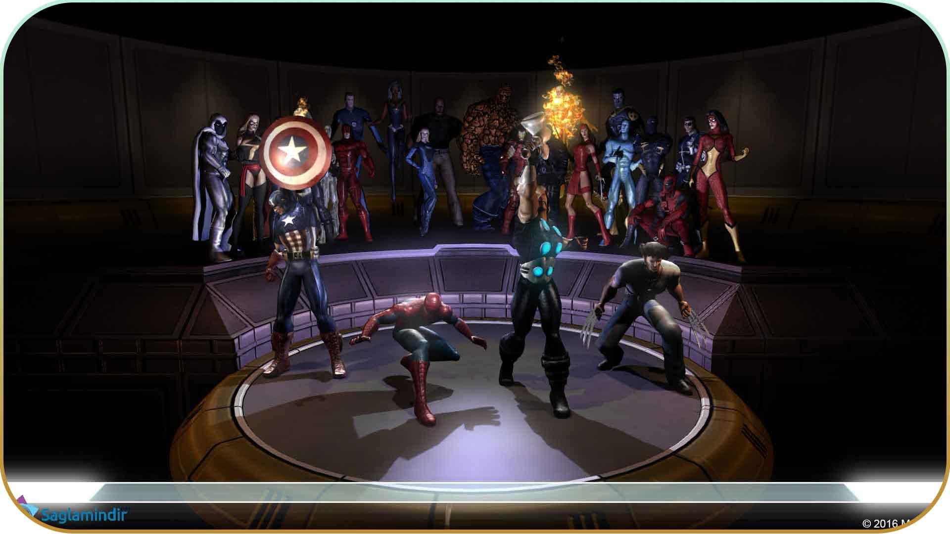 Marvel Ultimate Alliance 2 full indir