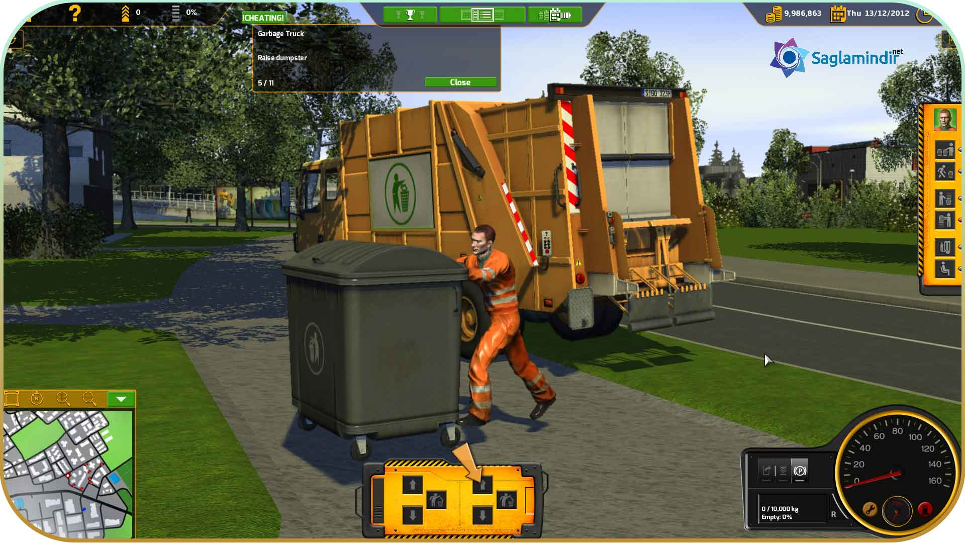 RECYCLE Garbage Truck Simulator full indir