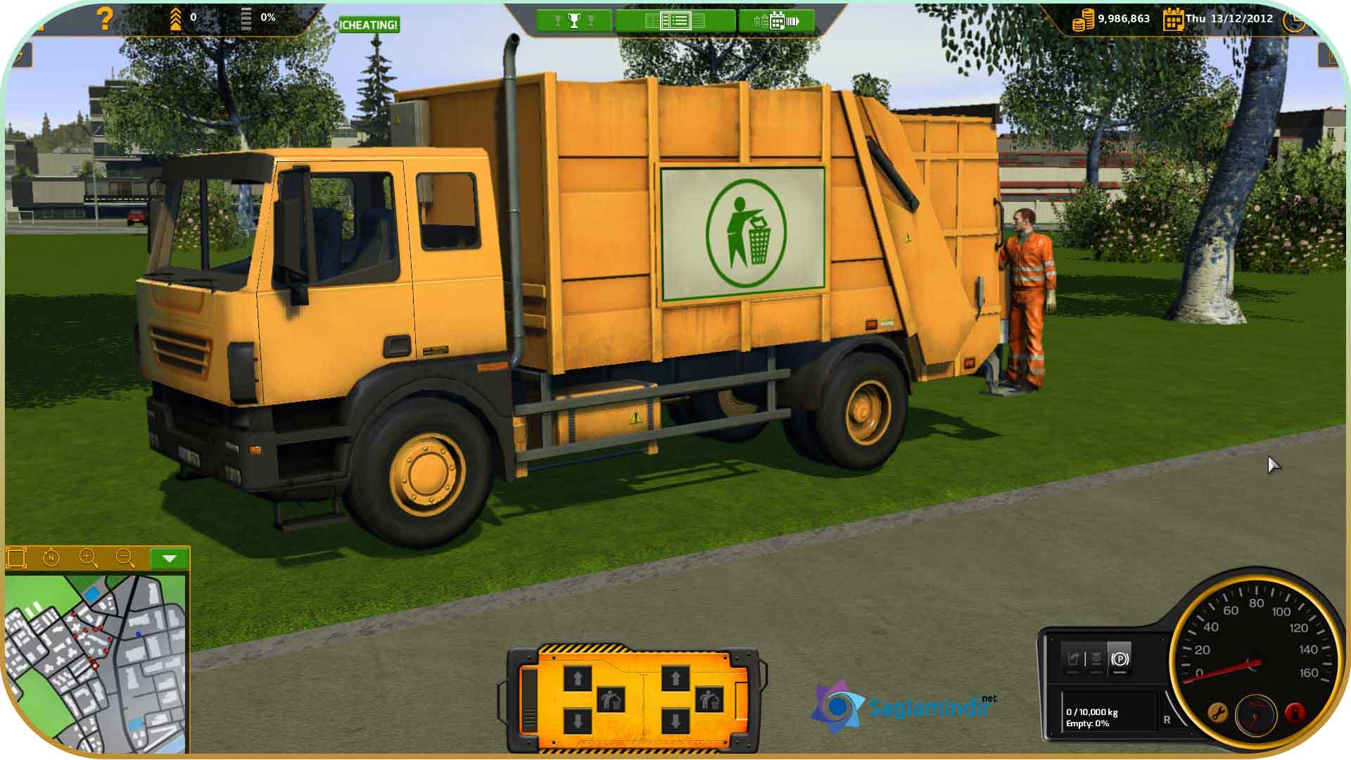 RECYCLE Garbage Truck Simulator saglamindir