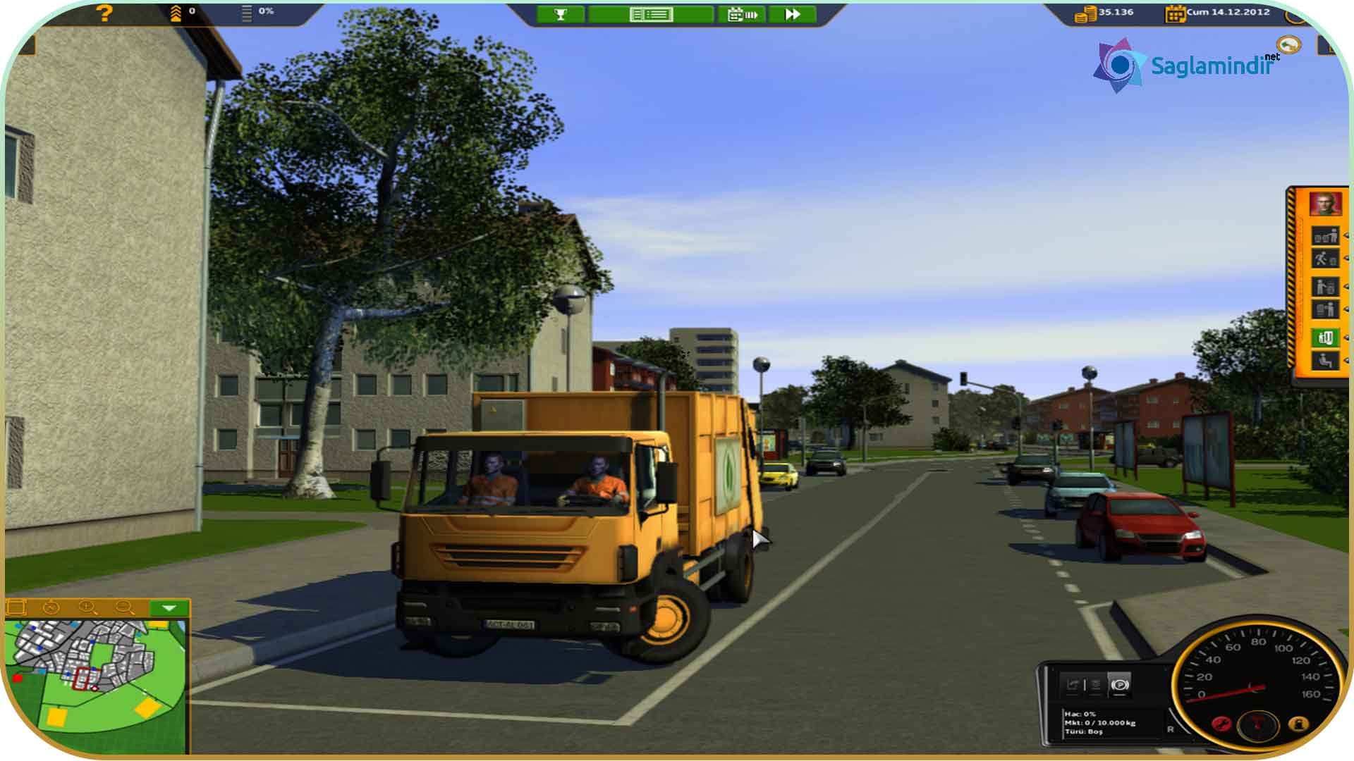 RECYCLE Garbage Truck Simulator torrent indir