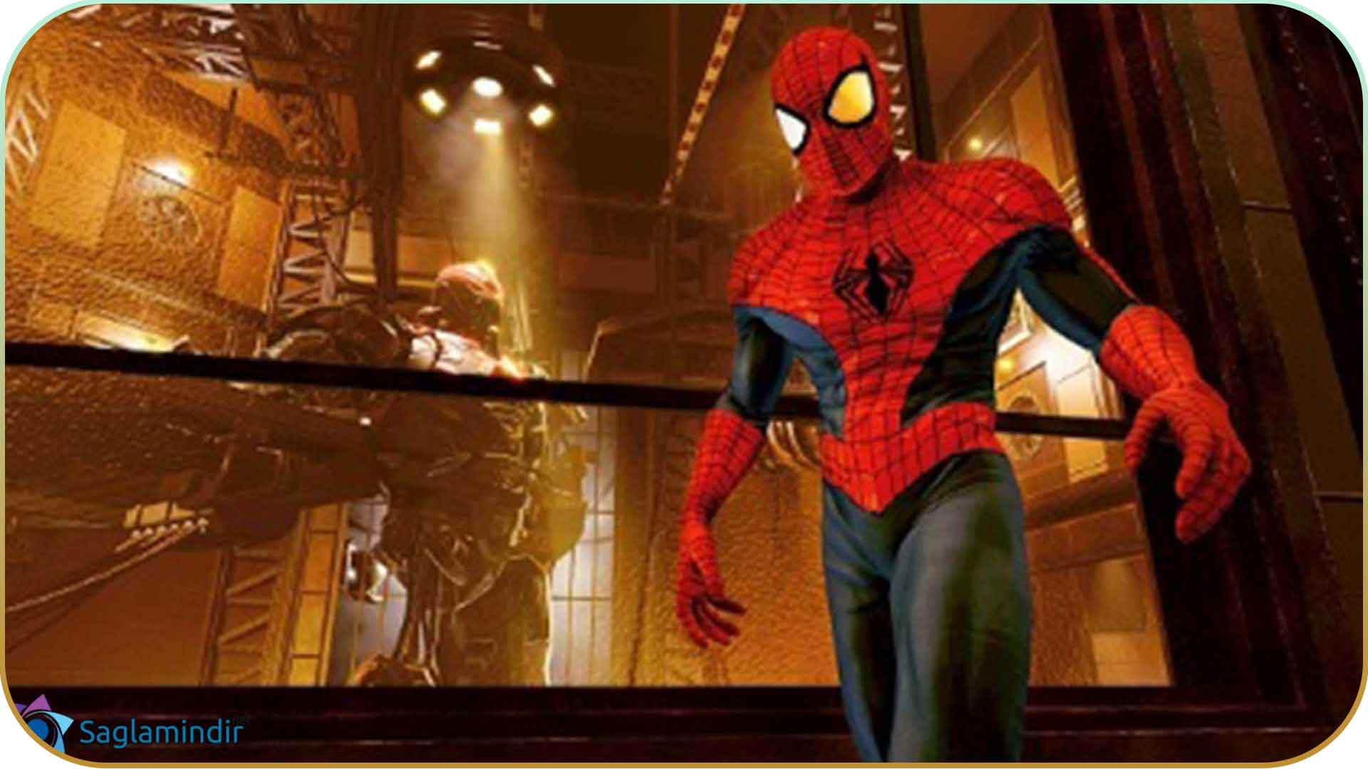 Spider Man Edge Of Time saglamindir