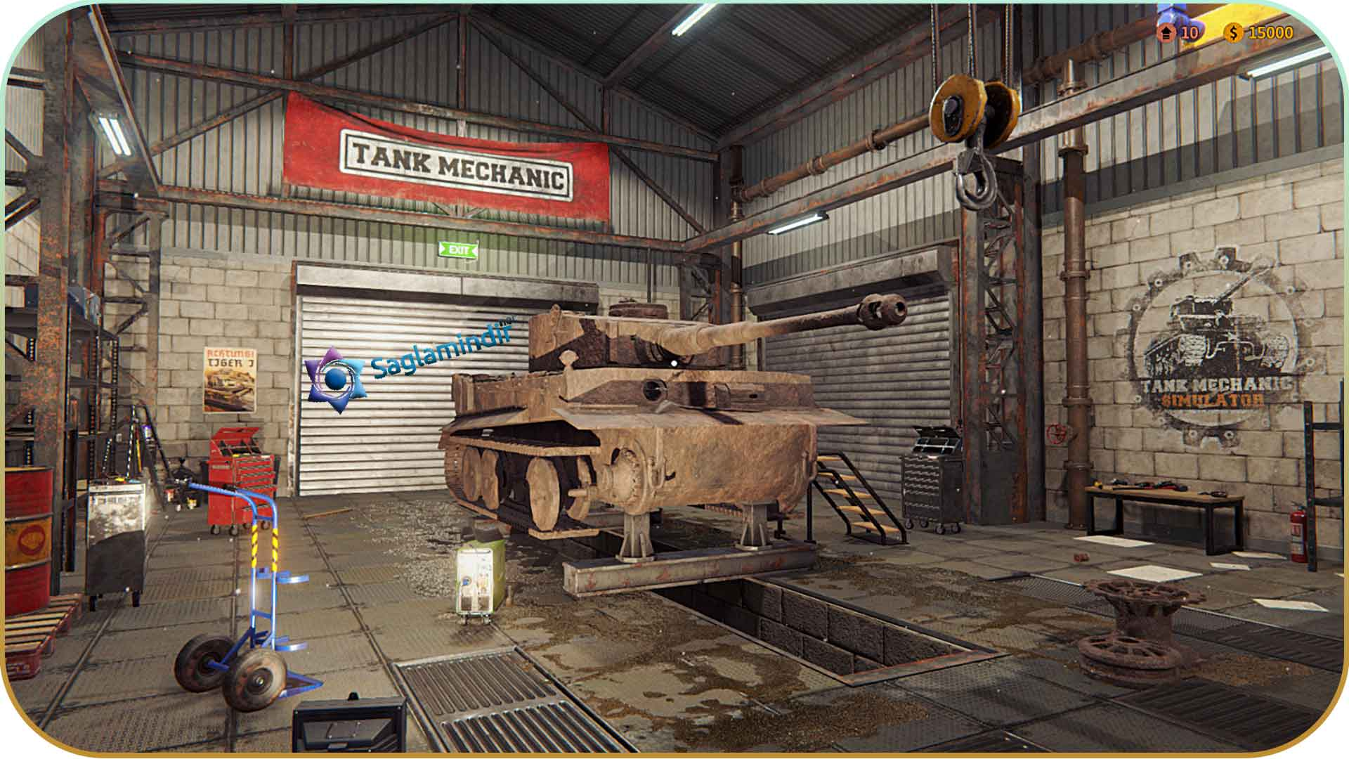 Tank Mechanic Simulator torrent indir