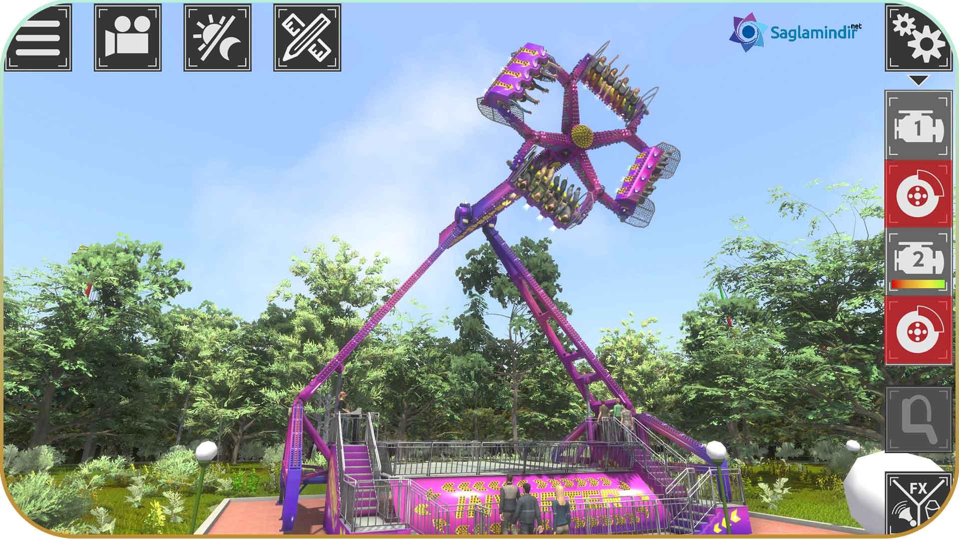 Theme Park Simulator saglamindir