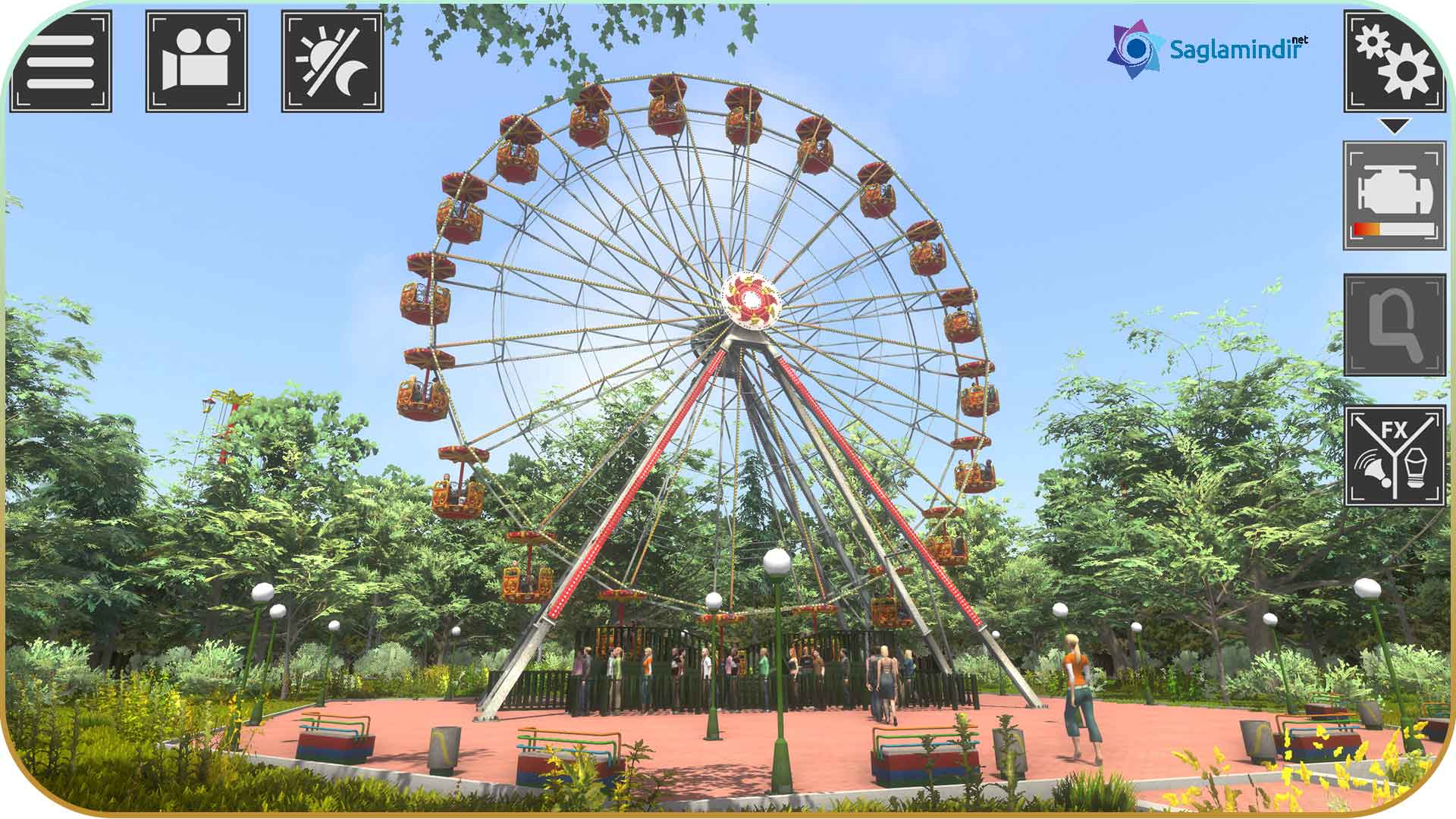 Theme Park Simulator torrent indir