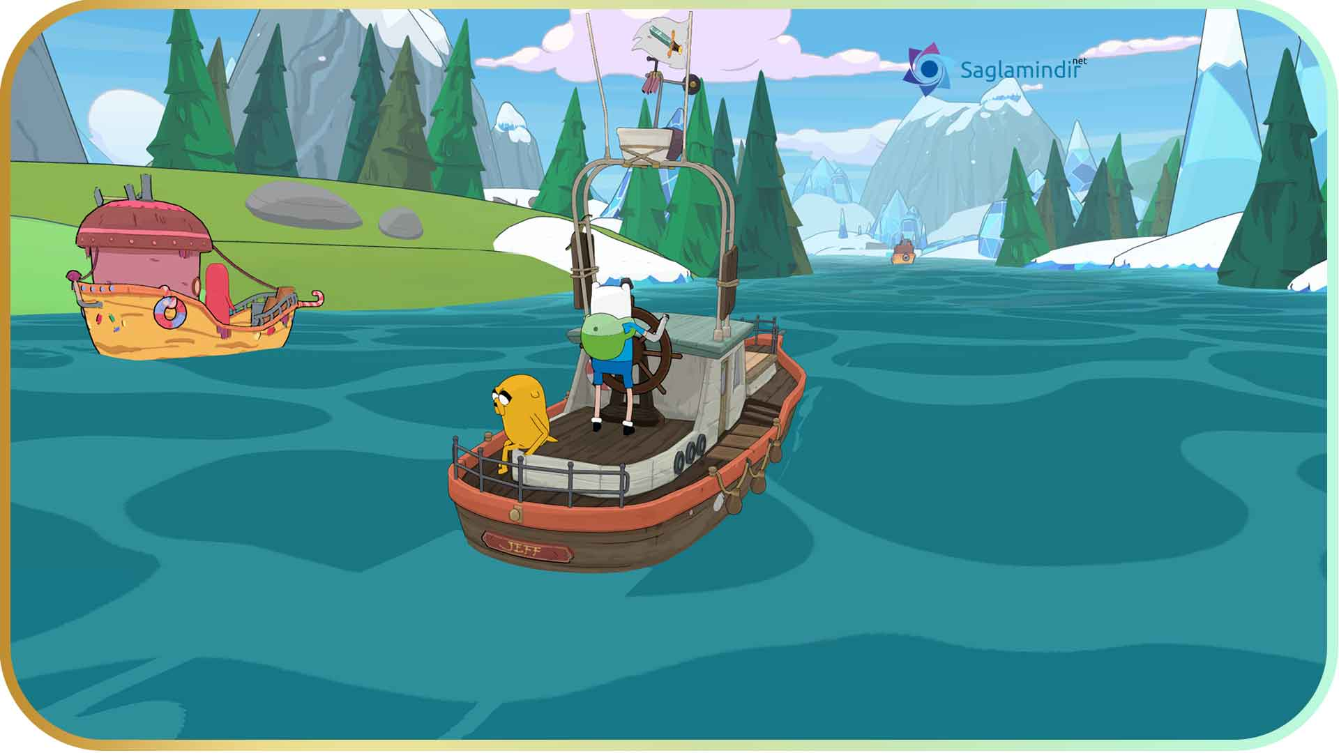 Adventure Time Pirates of the Enchiridion full indir