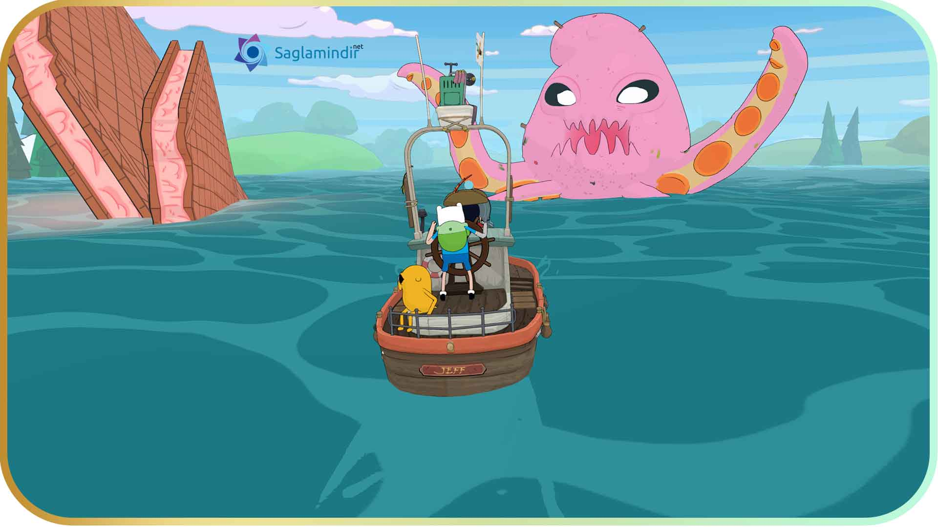 Adventure Time Pirates of the Enchiridion saglamindir