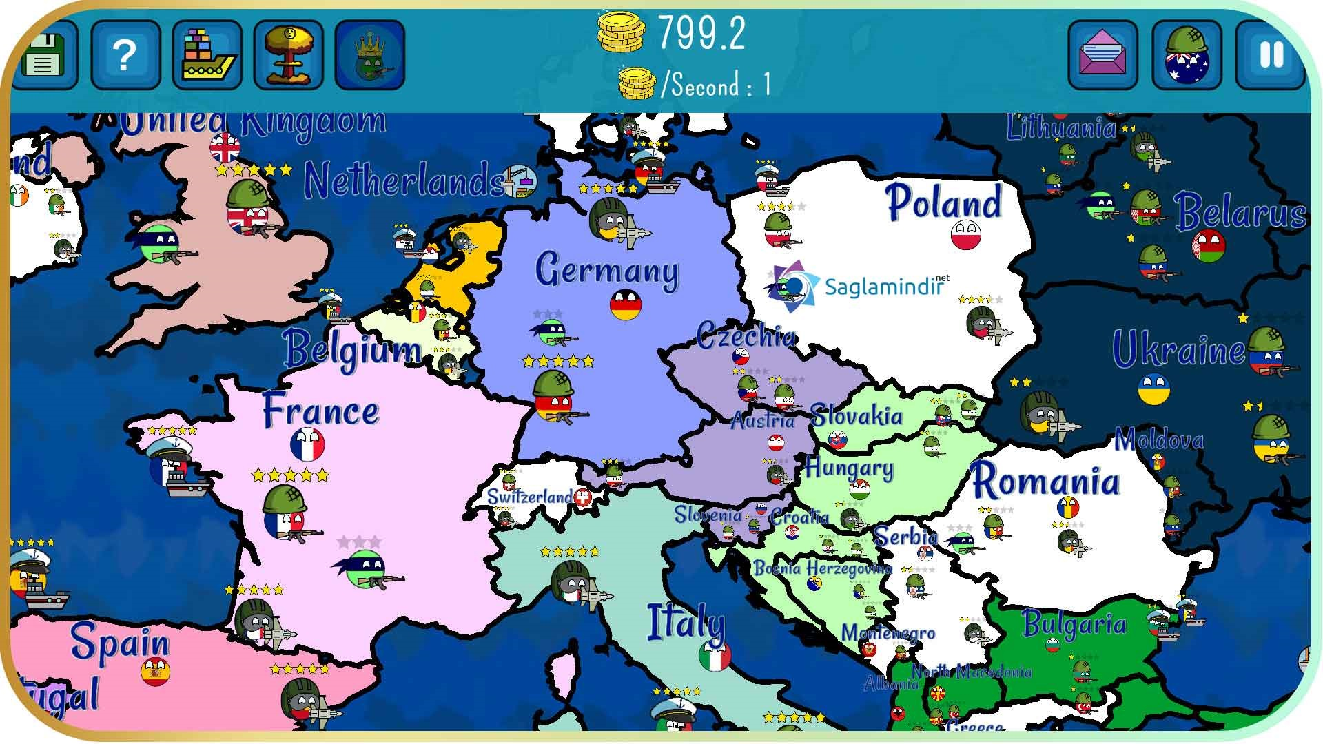 Dictators No Peace Countryballs torrent indir