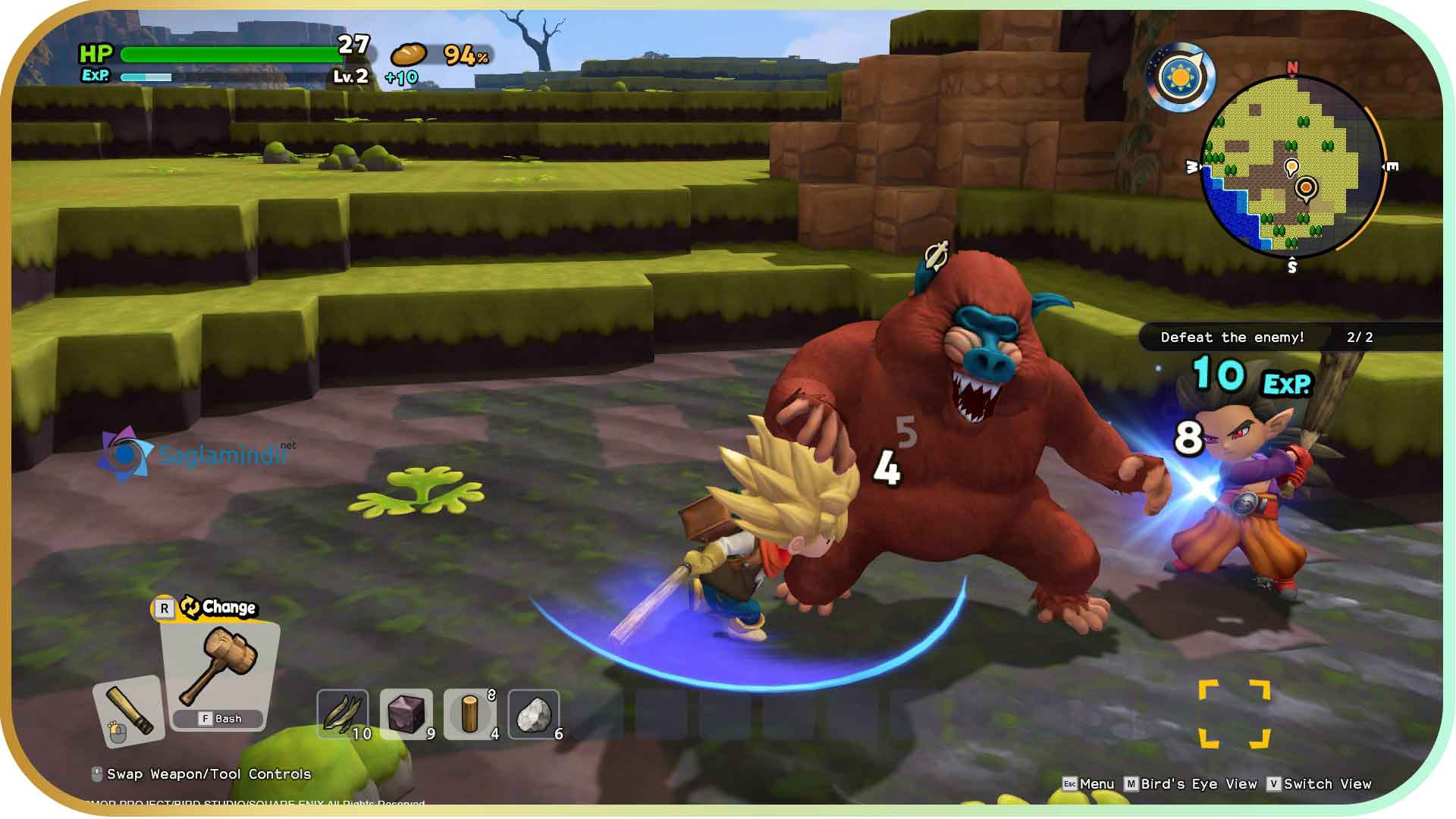 Dragon Quest Builders 2 full indir