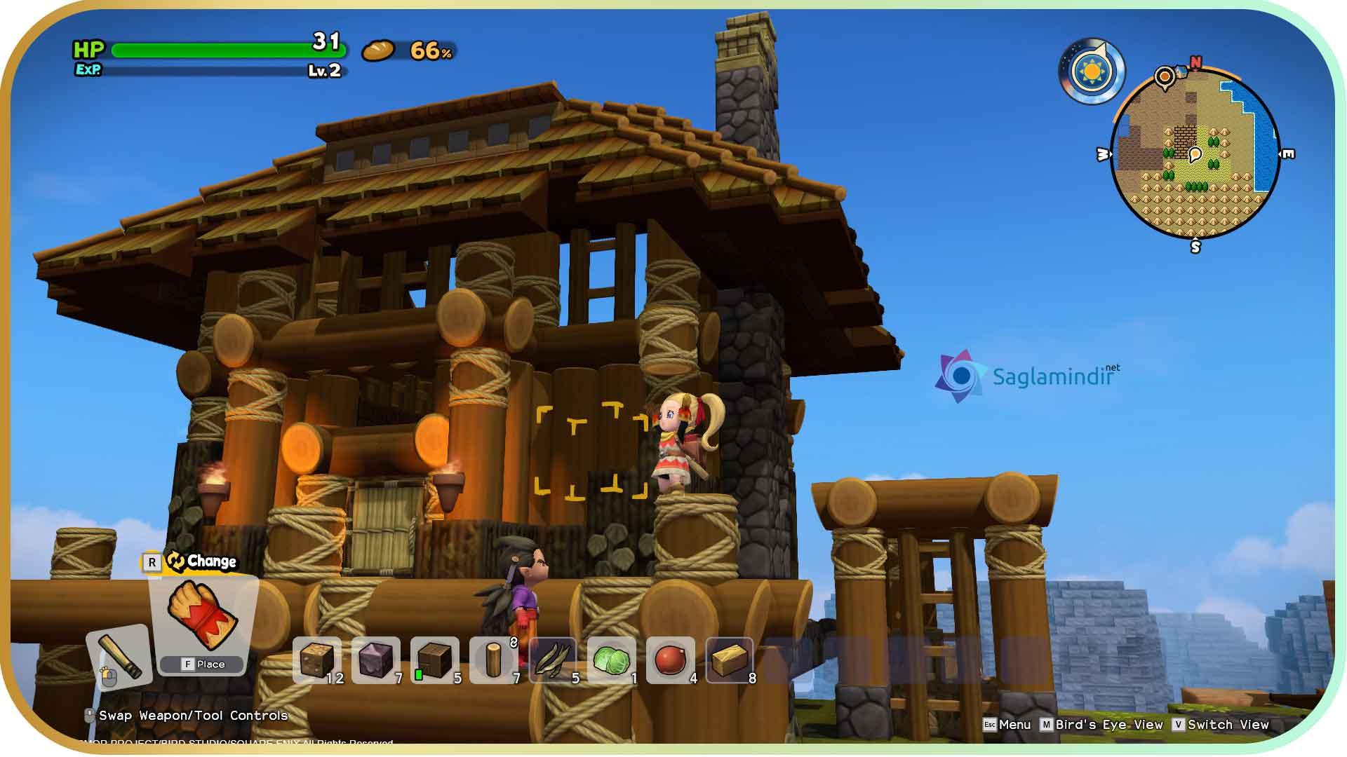 Dragon Quest Builders 2 torrent indir