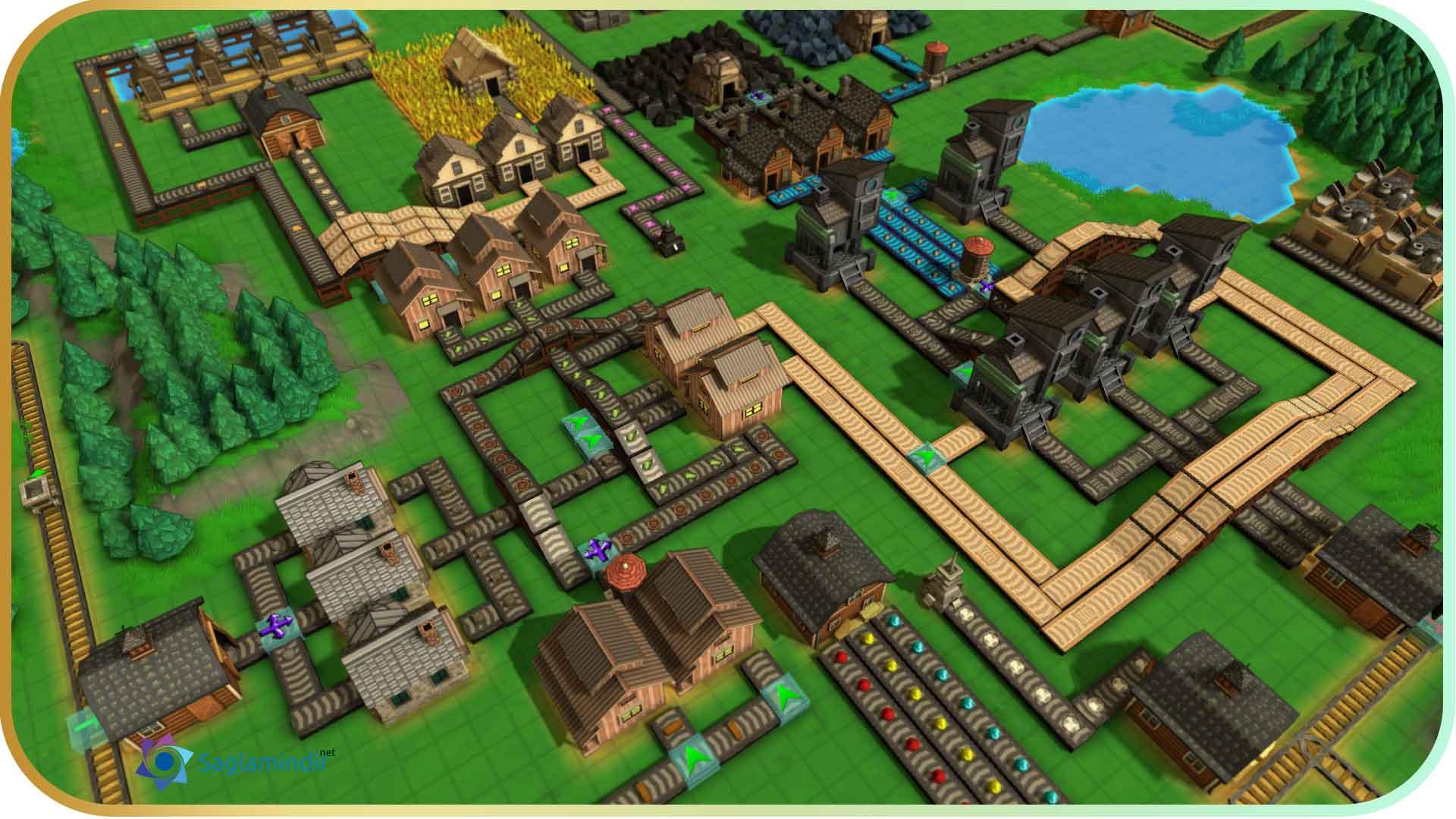 Factory Town torrent indir