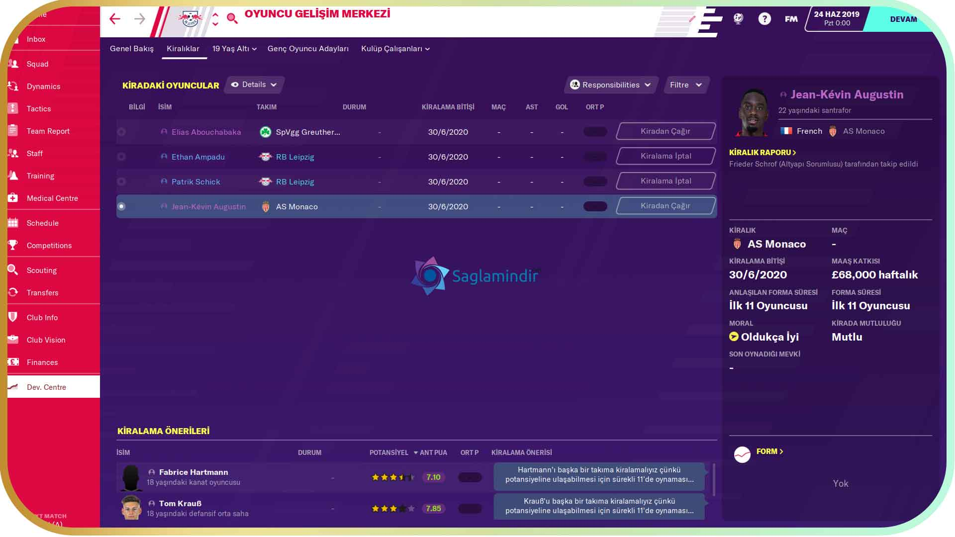 Football Manager 2020 torrent indir