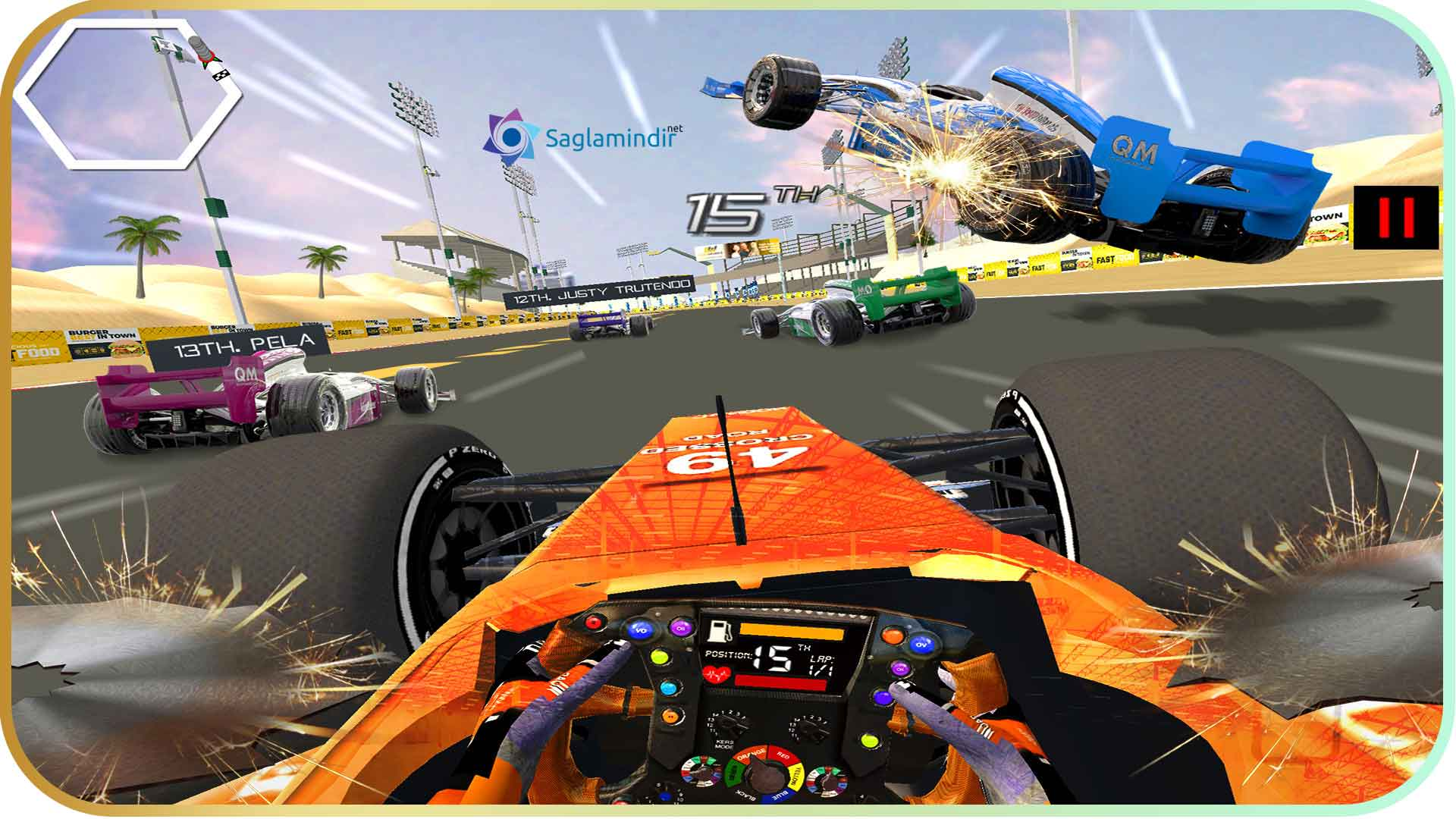 Formula Car Racing Simulator saglamindir