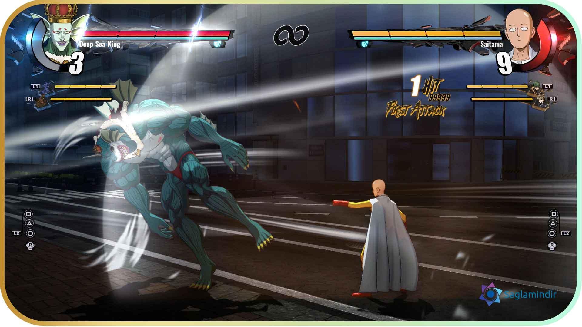 One Punch Man A Hero Nobody Knows saglamindir