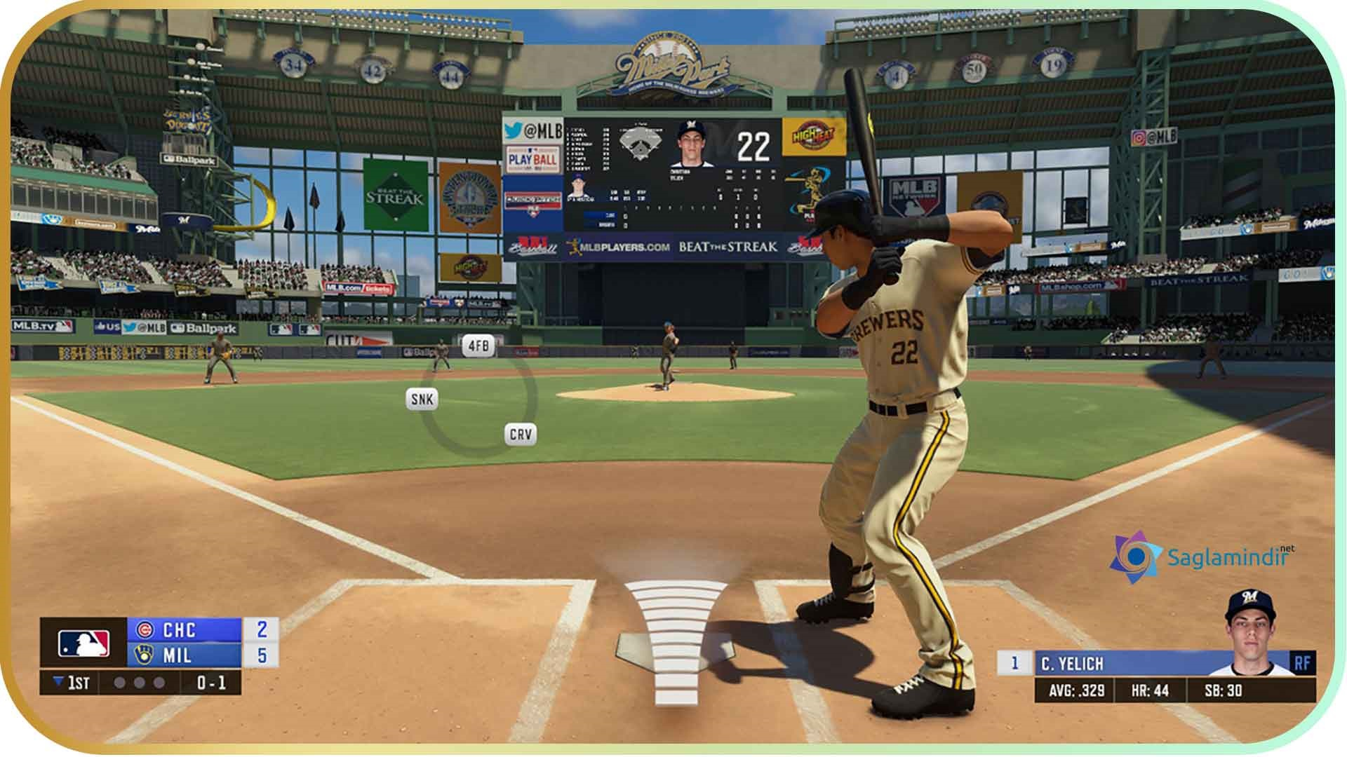 R.B.I. Baseball 20 saglamindir