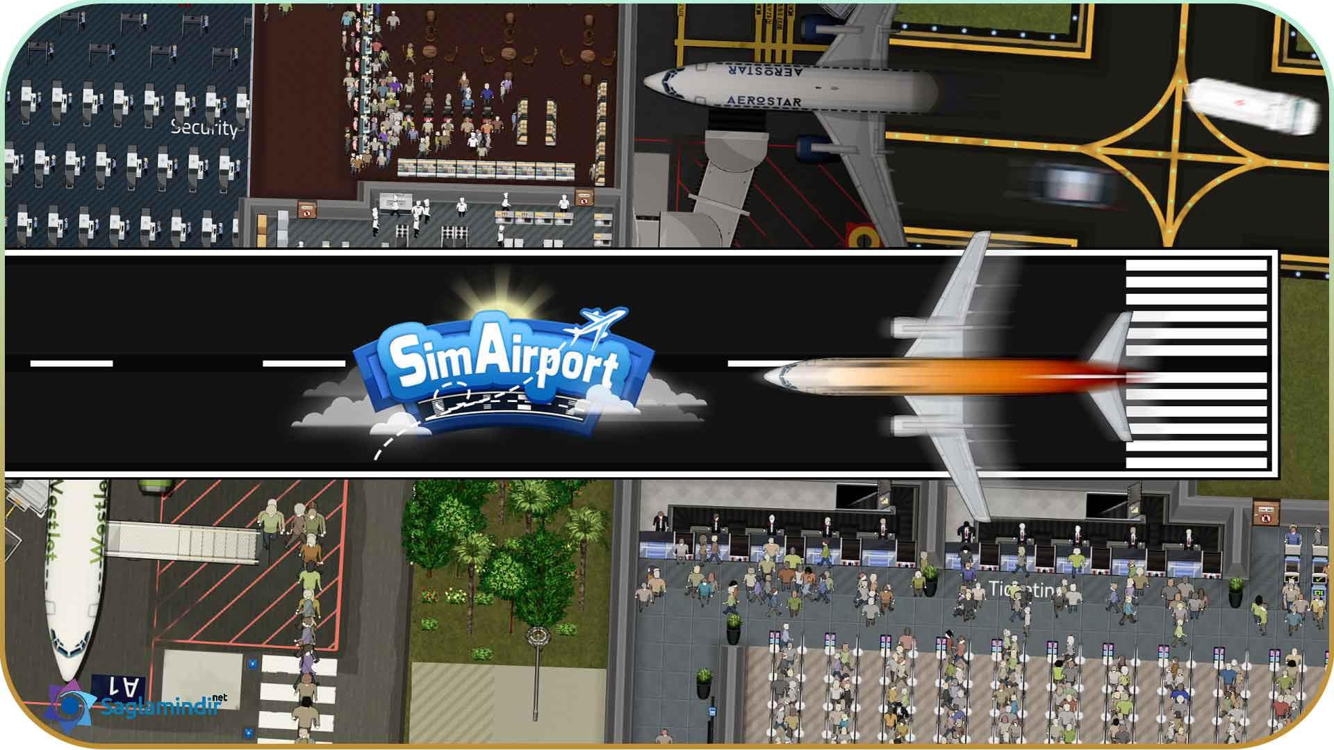 SimAirport torrent indir