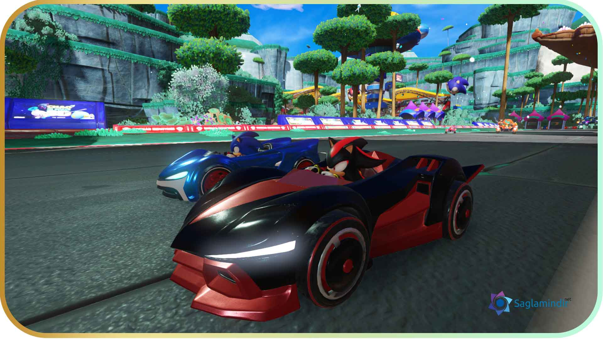 Team Sonic Racing full indir